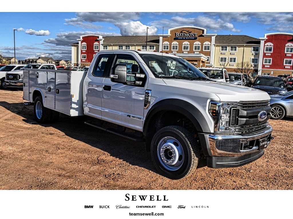 2019 Ford F-550 Super Cab DRW 4x4, Knapheide Service Body #M987990 - photo 1