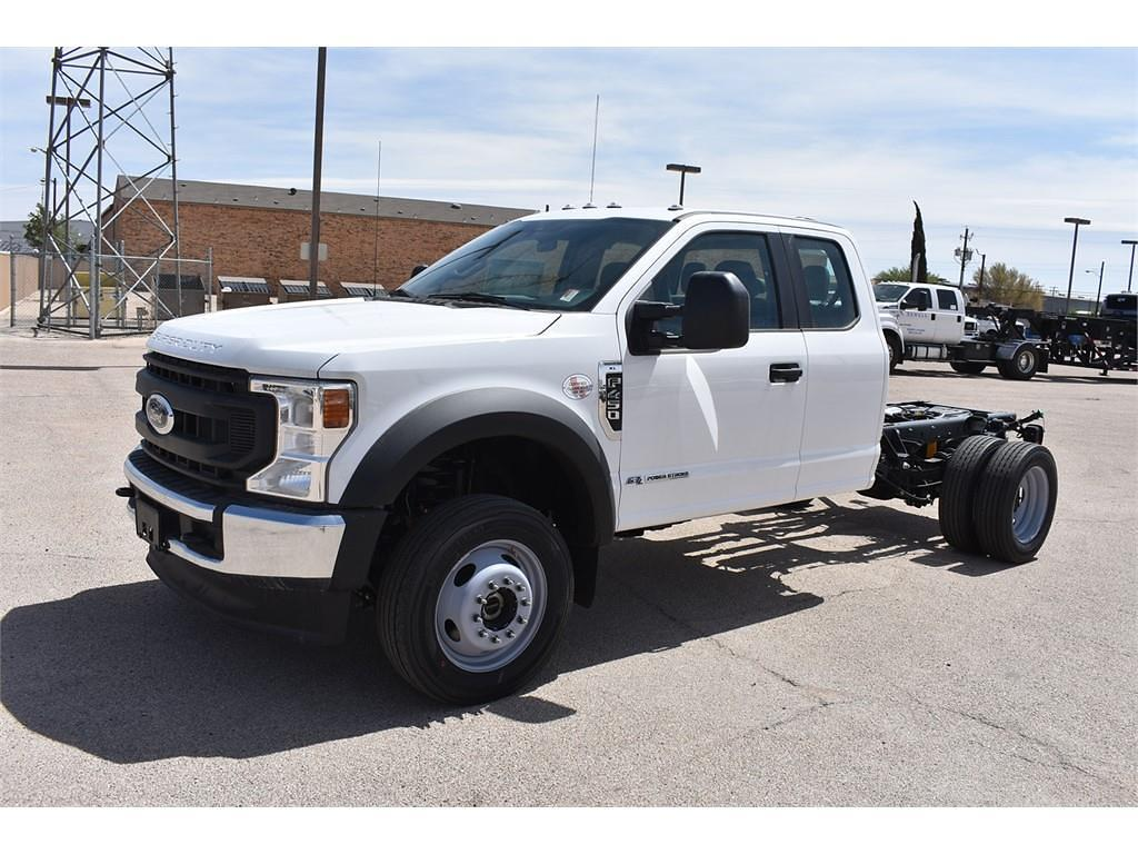 2021 Ford F-450 Super Cab DRW 4x4, Cab Chassis #P142419 - photo 4