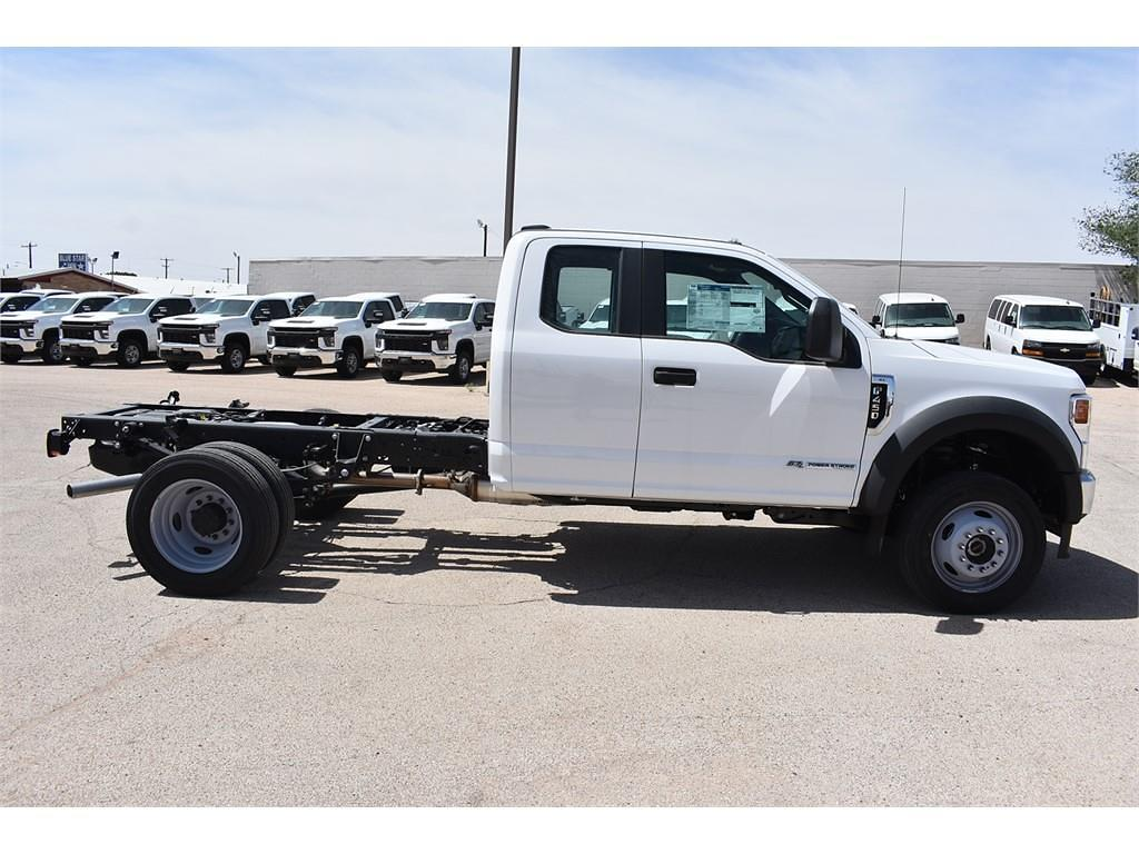 2021 Ford F-450 Super Cab DRW 4x4, Cab Chassis #P142419 - photo 8