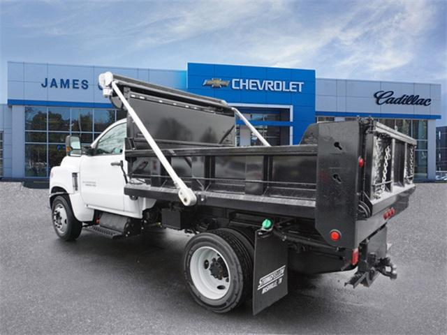 2019 Chevrolet Silverado 5500 Regular Cab DRW RWD, Godwin 184U Dump Body #8975 - photo 2