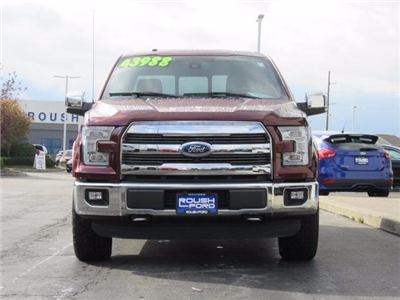 2015 F-150 Super Cab 4x4 Pickup #T17745A - photo 4