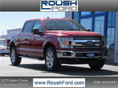2018 F-150 Crew Cab 4x4 Pickup #T18046 - photo 1