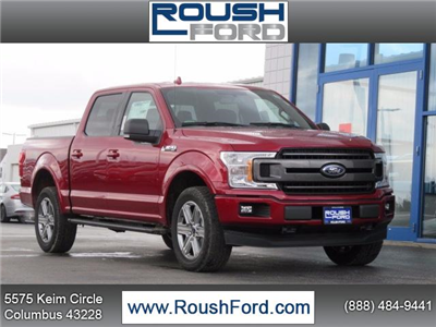 2018 F-150 Crew Cab 4x4 Pickup #T18091 - photo 1