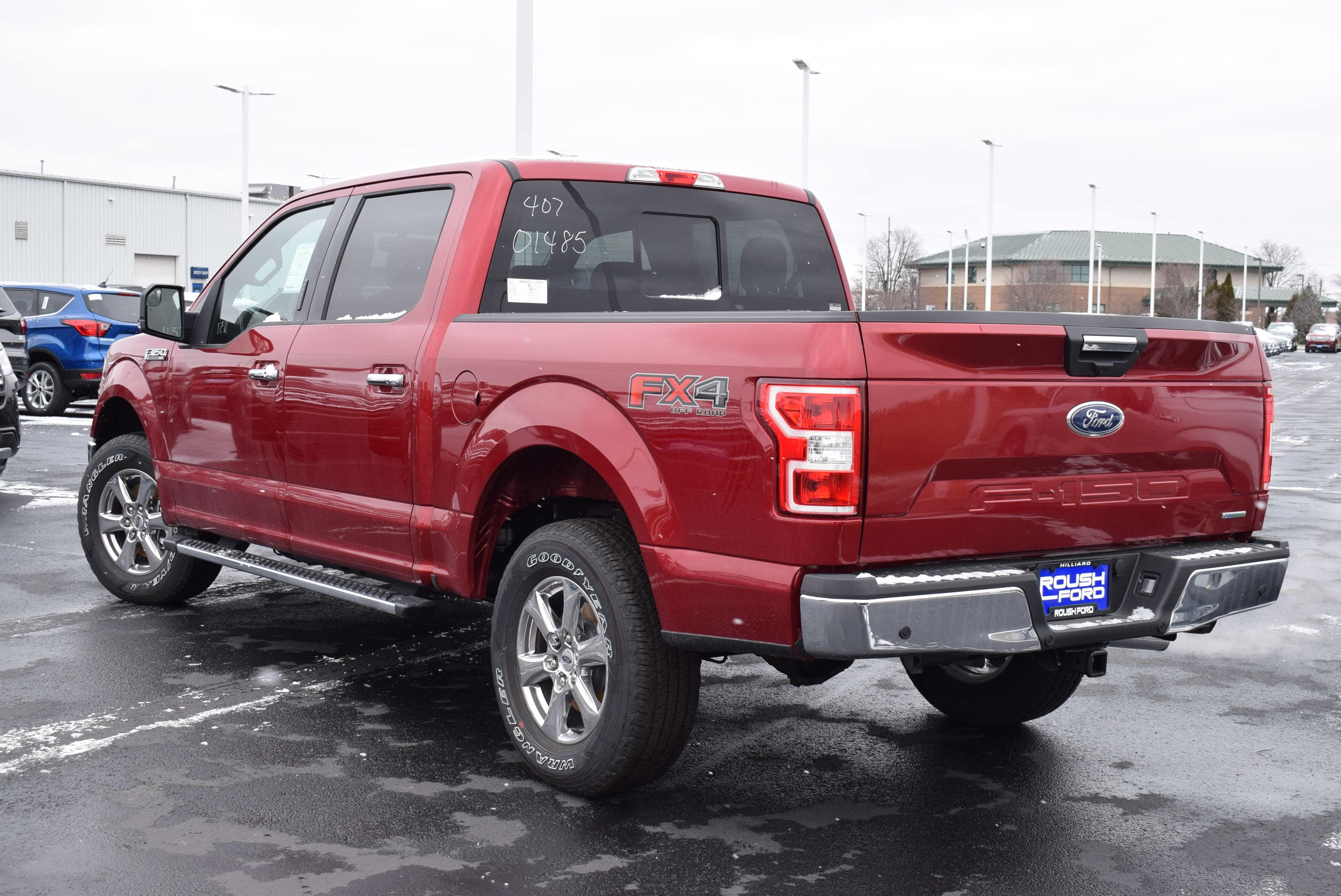 2018 F-150 SuperCrew Cab 4x4,  Pickup #T181001 - photo 2