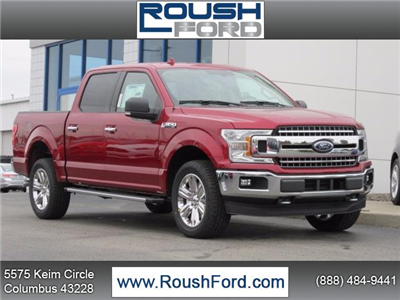 2018 F-150 Crew Cab 4x4 Pickup #T18114 - photo 1