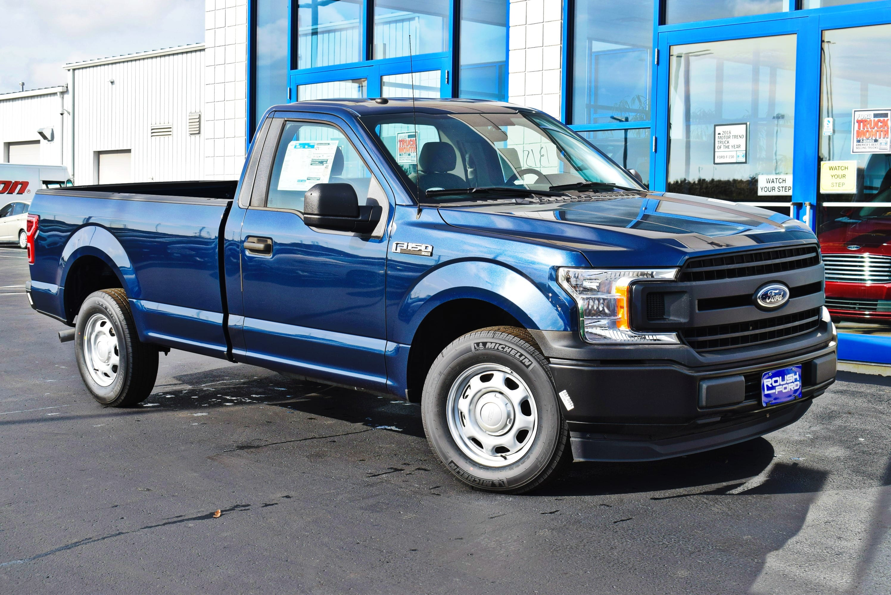 2018 F-150 Regular Cab 4x2,  Pickup #T18165 - photo 3