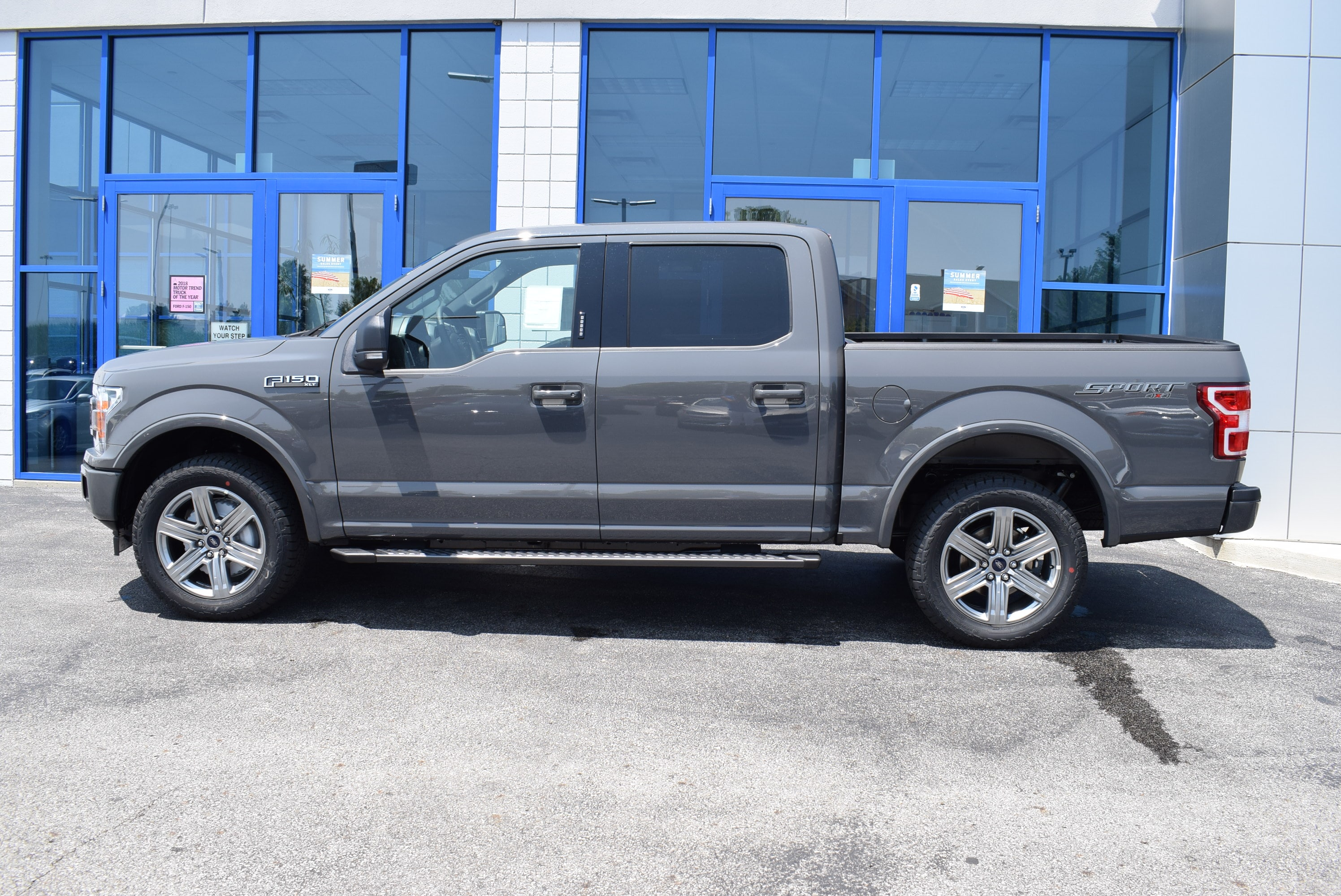 2018 F-150 SuperCrew Cab 4x4,  Pickup #T18615 - photo 8