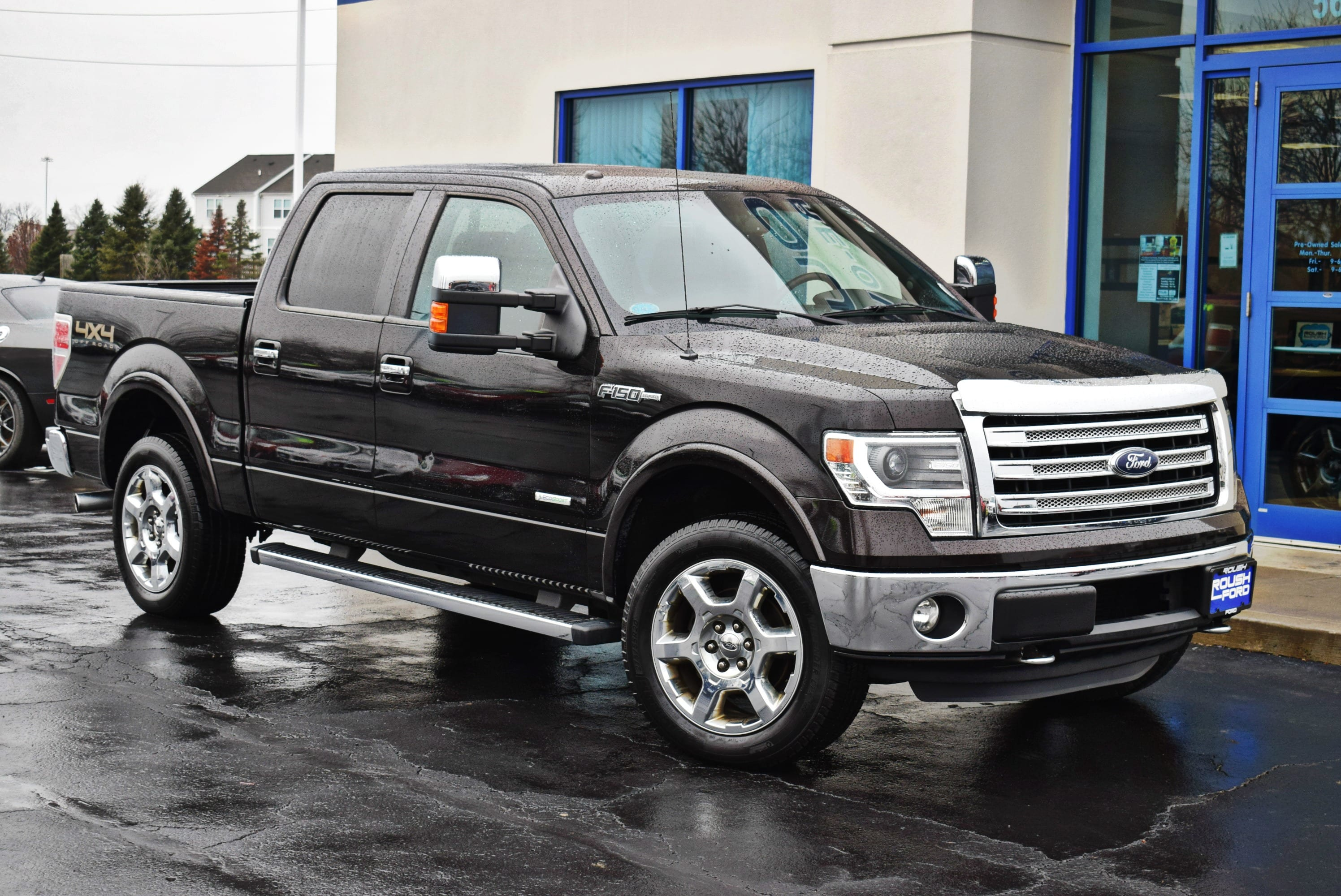 2013 F-150 SuperCrew Cab 4x4,  Pickup #T18894A - photo 4