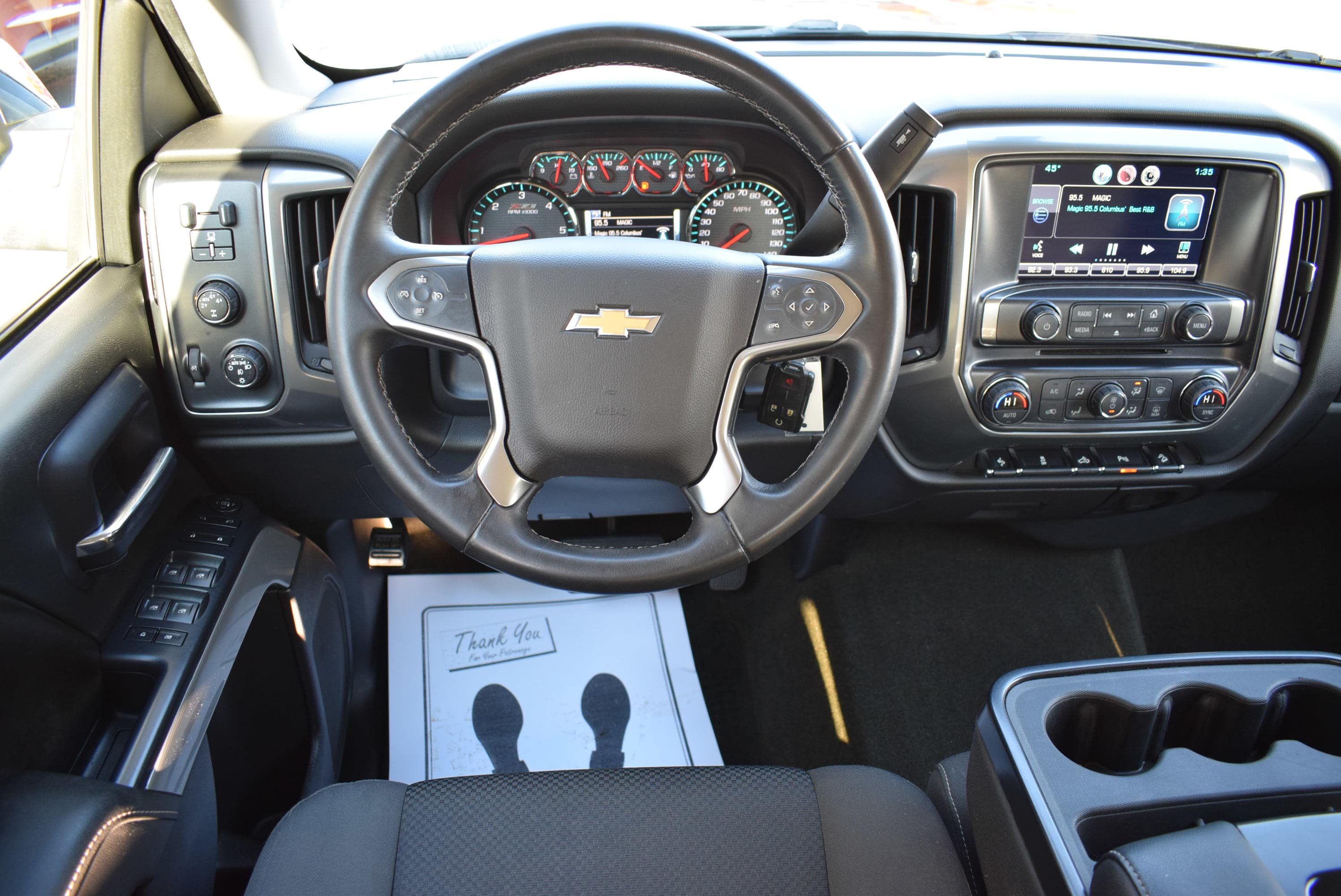 2015 Silverado 1500 Crew Cab 4x4,  Pickup #T18980A - photo 22