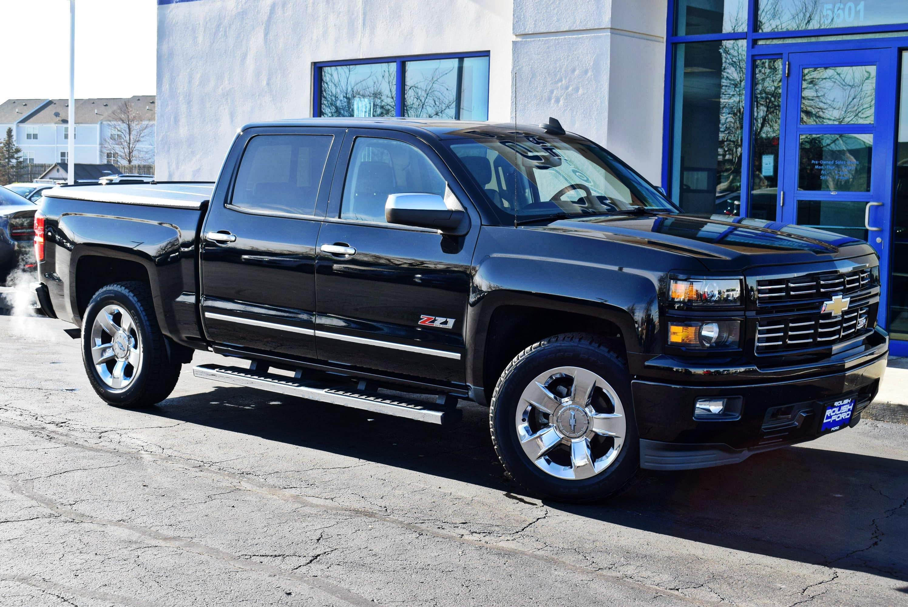 2015 Silverado 1500 Crew Cab 4x4,  Pickup #T18980A - photo 4