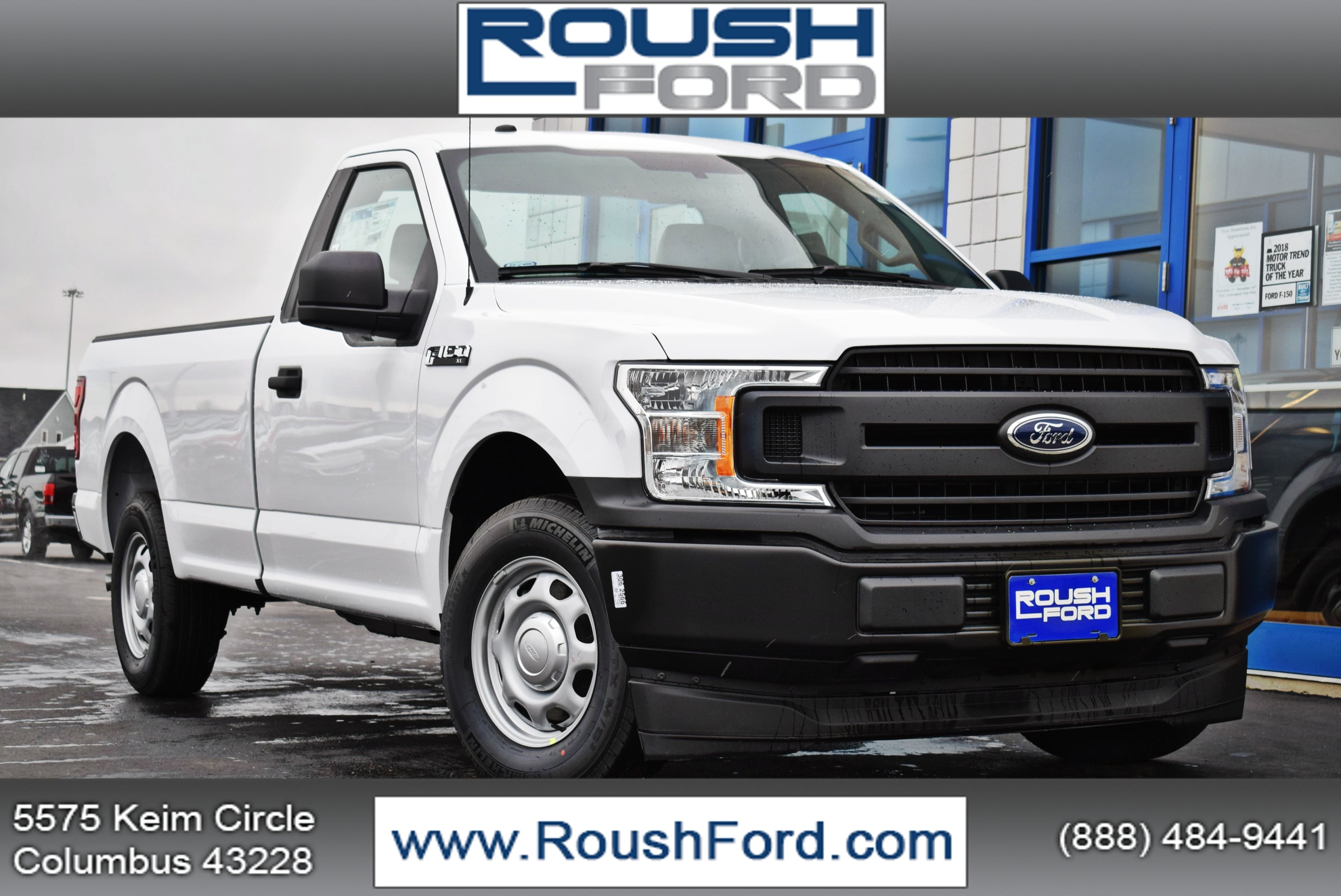 2018 F-150 Regular Cab 4x2,  Pickup #T18999 - photo 1