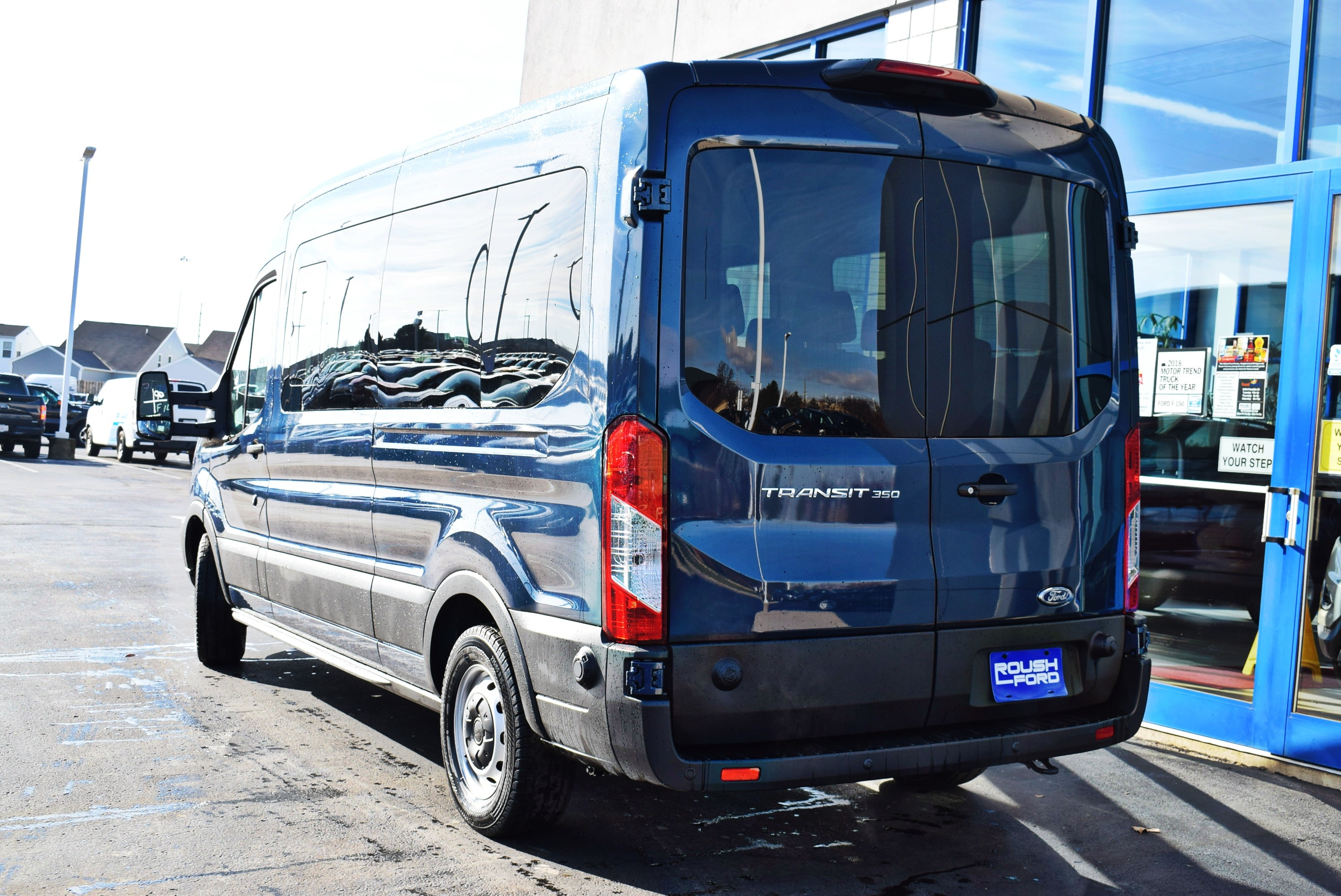 2019 Transit 350 Med Roof 4x2,  Passenger Wagon #T19037 - photo 9