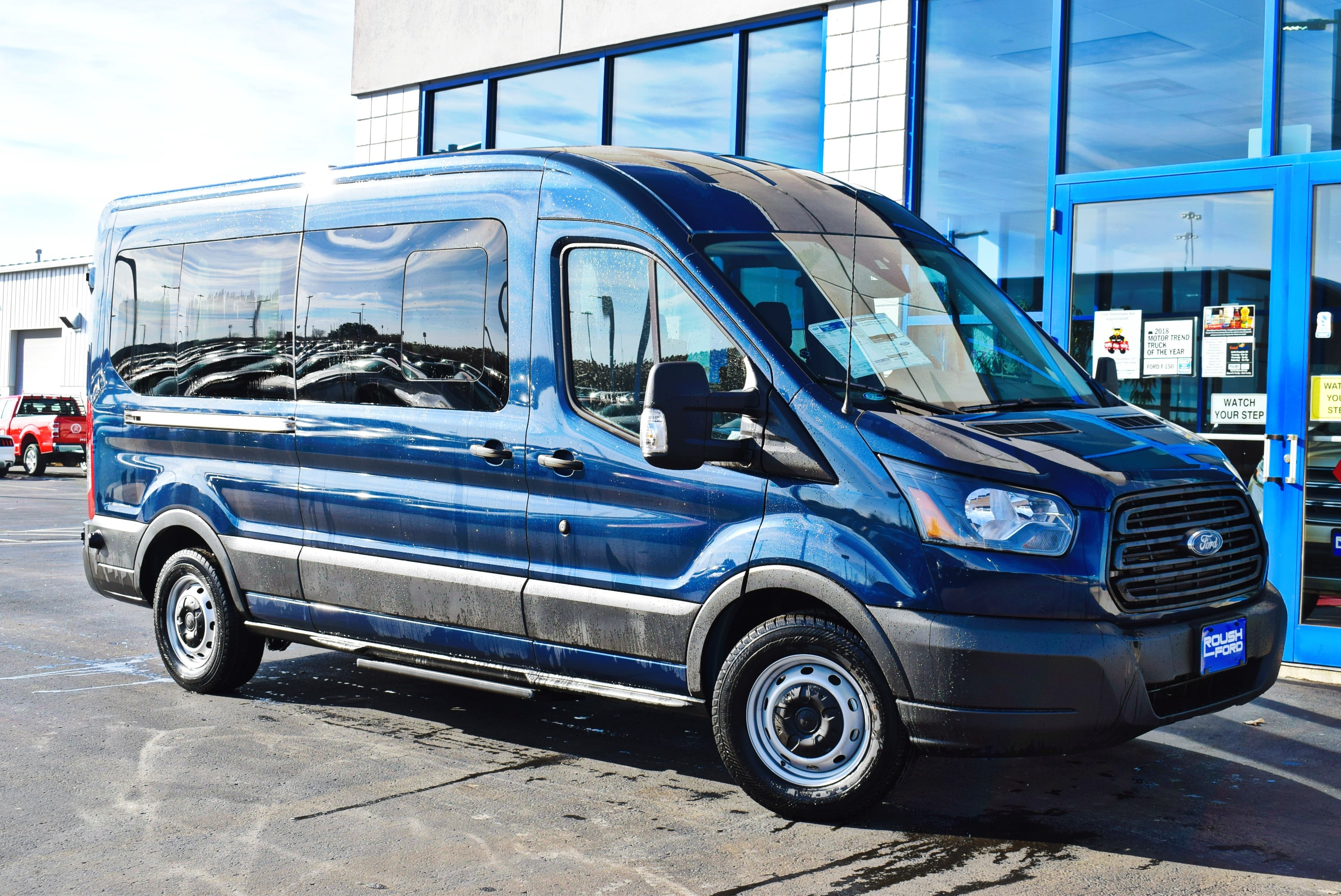 2019 Transit 350 Med Roof 4x2,  Passenger Wagon #T19037 - photo 3