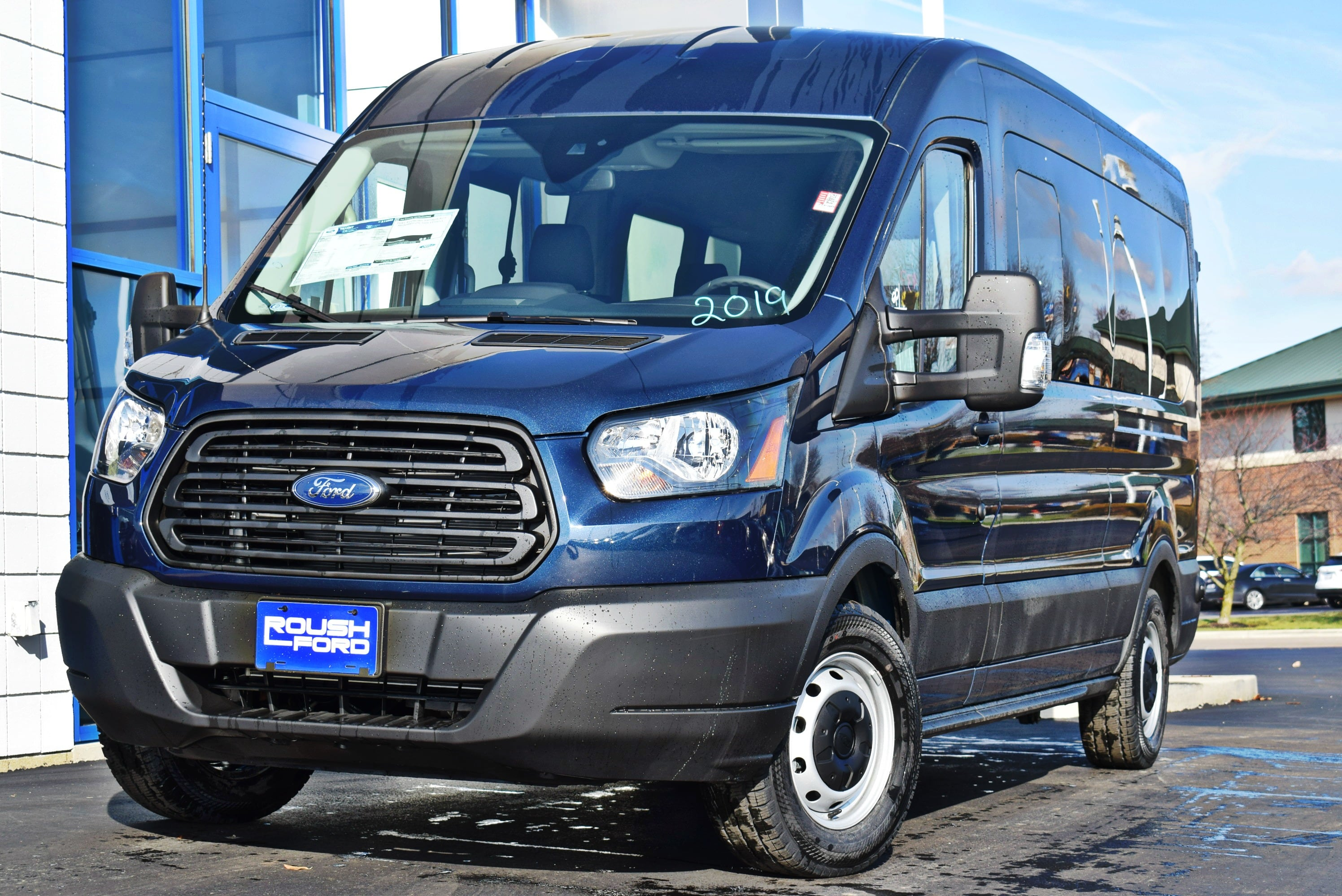 2019 Transit 350 Med Roof 4x2,  Passenger Wagon #T19037 - photo 4