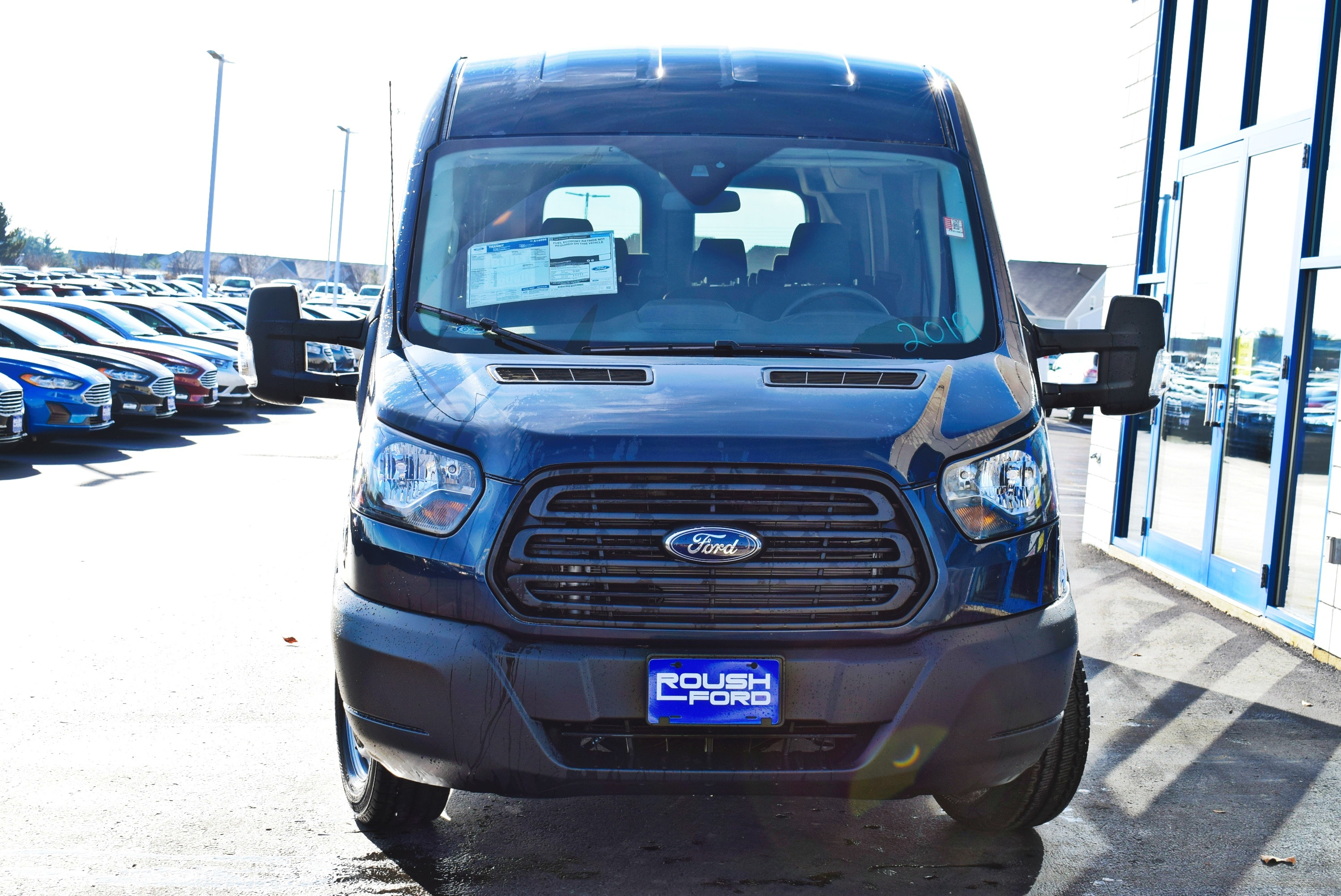 2019 Transit 350 Med Roof 4x2,  Passenger Wagon #T19037 - photo 6