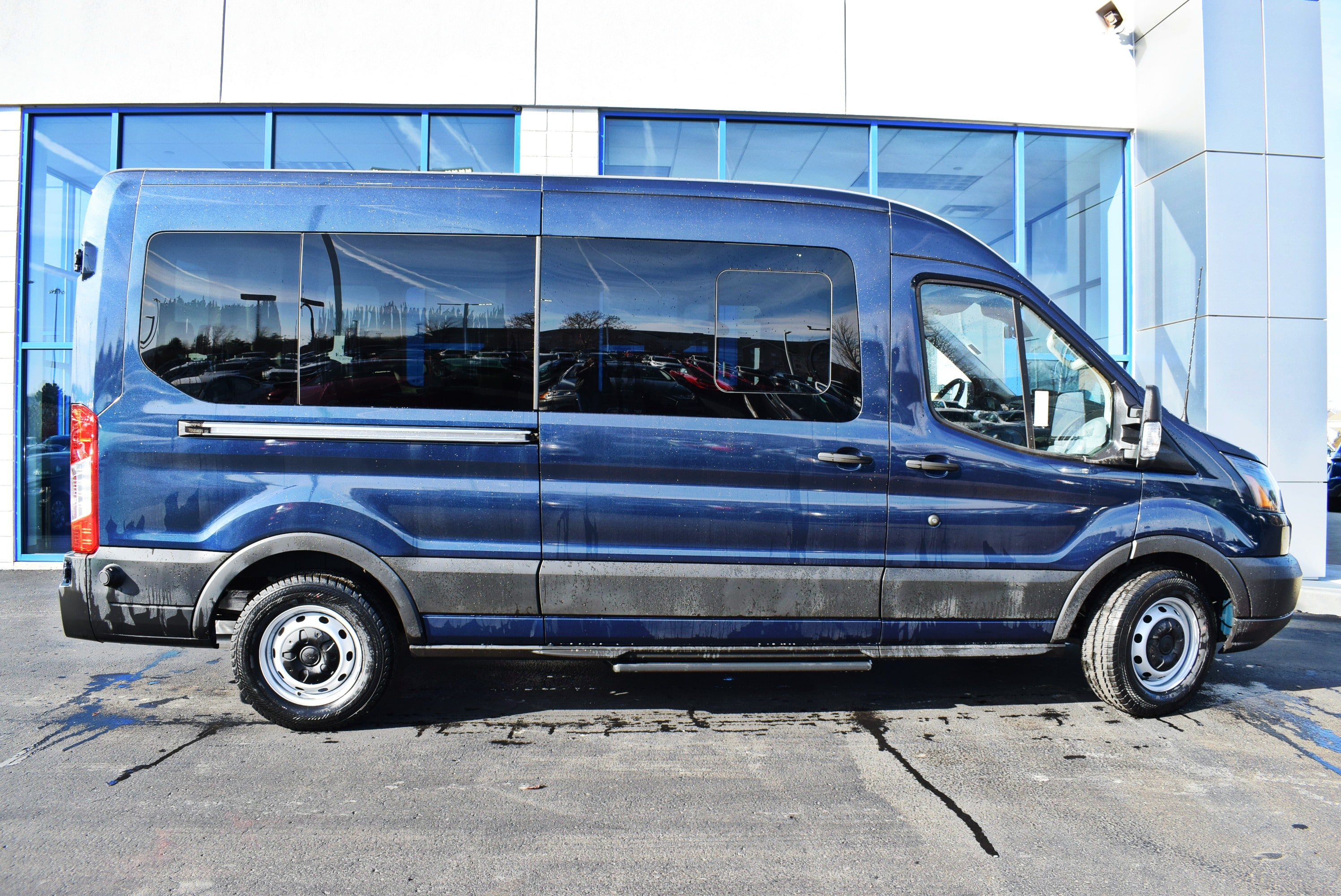 2019 Transit 350 Med Roof 4x2,  Passenger Wagon #T19037 - photo 7