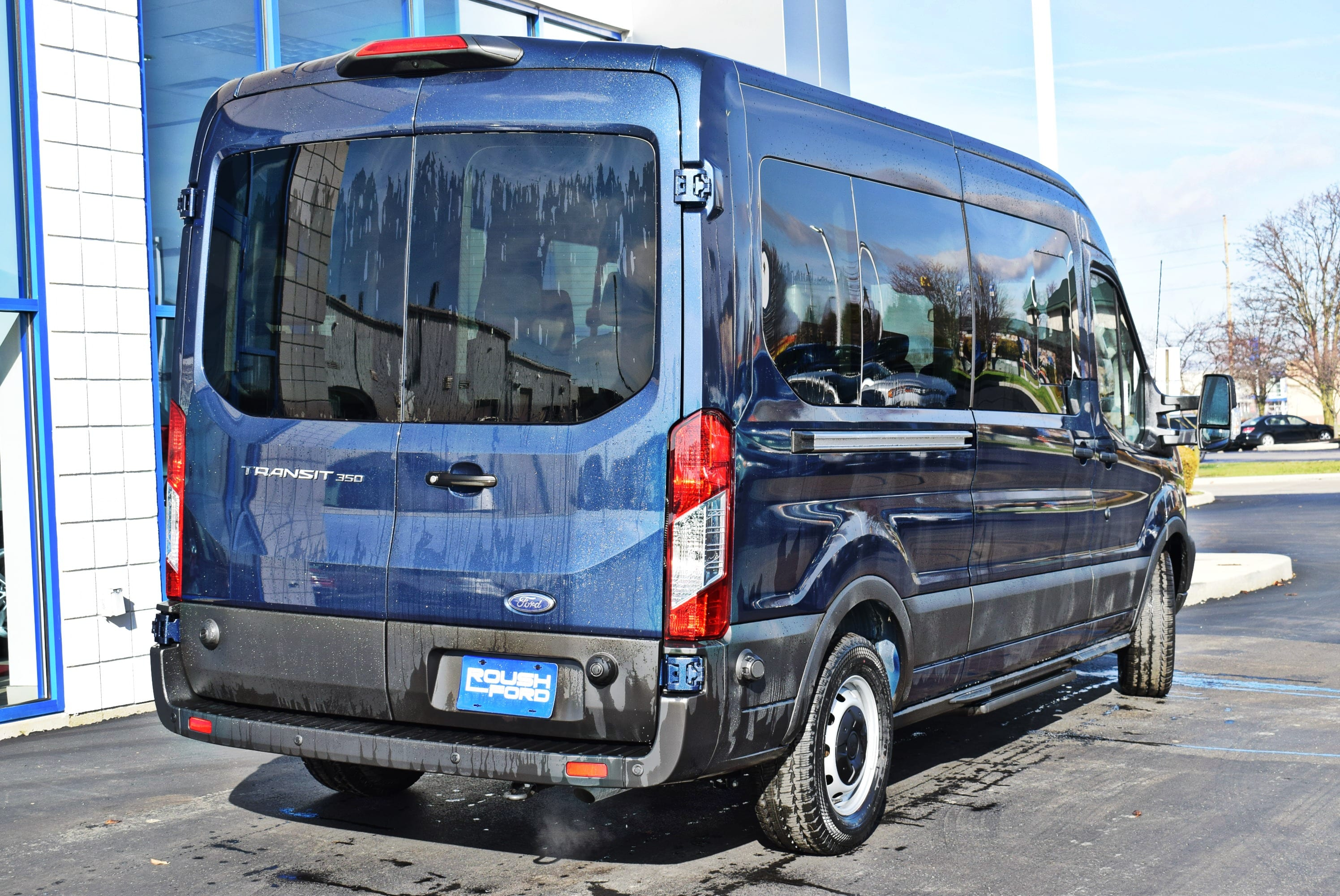 2019 Transit 350 Med Roof 4x2,  Passenger Wagon #T19037 - photo 2
