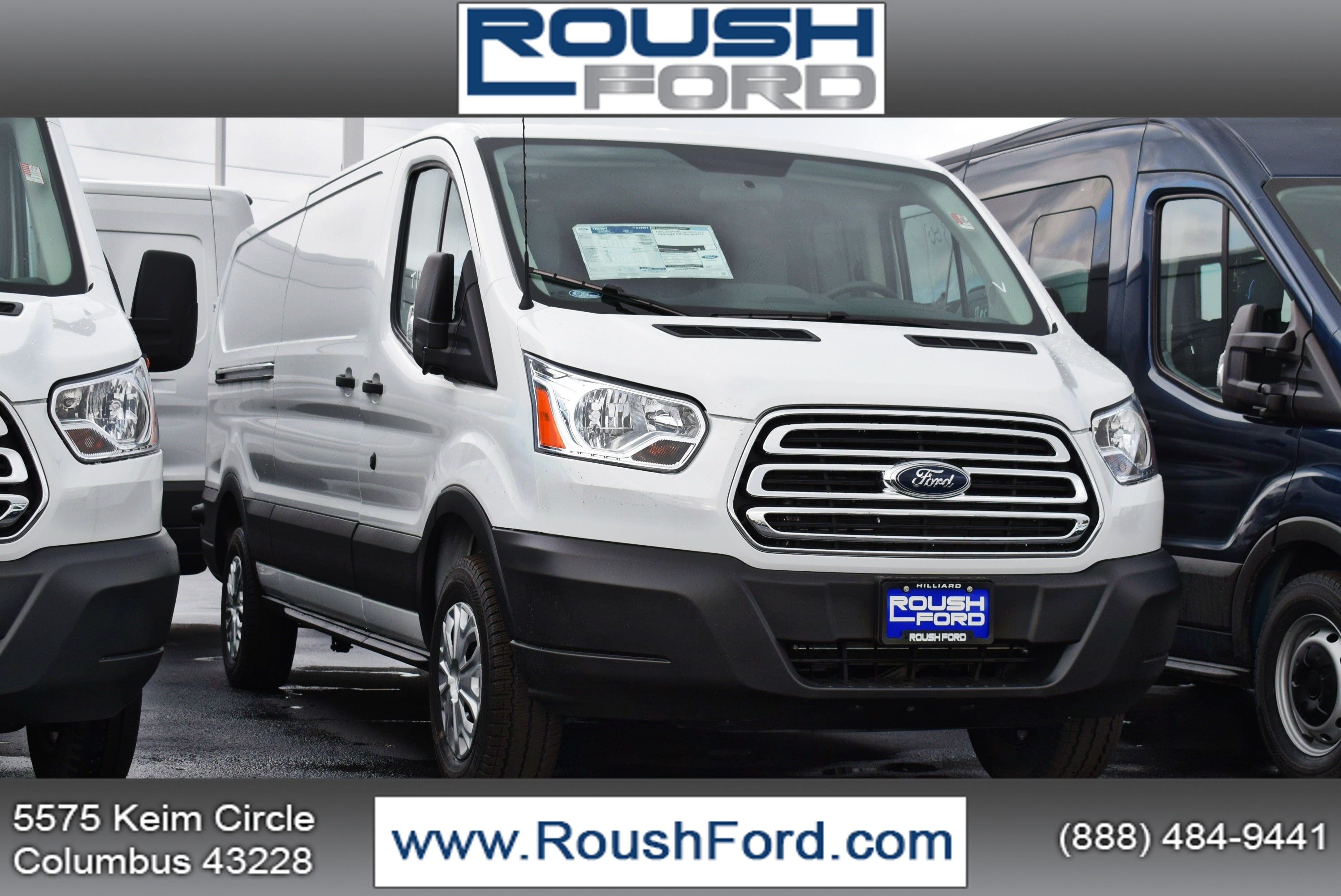 2019 Transit 250 Med Roof 4x2,  Empty Cargo Van #T19043 - photo 1