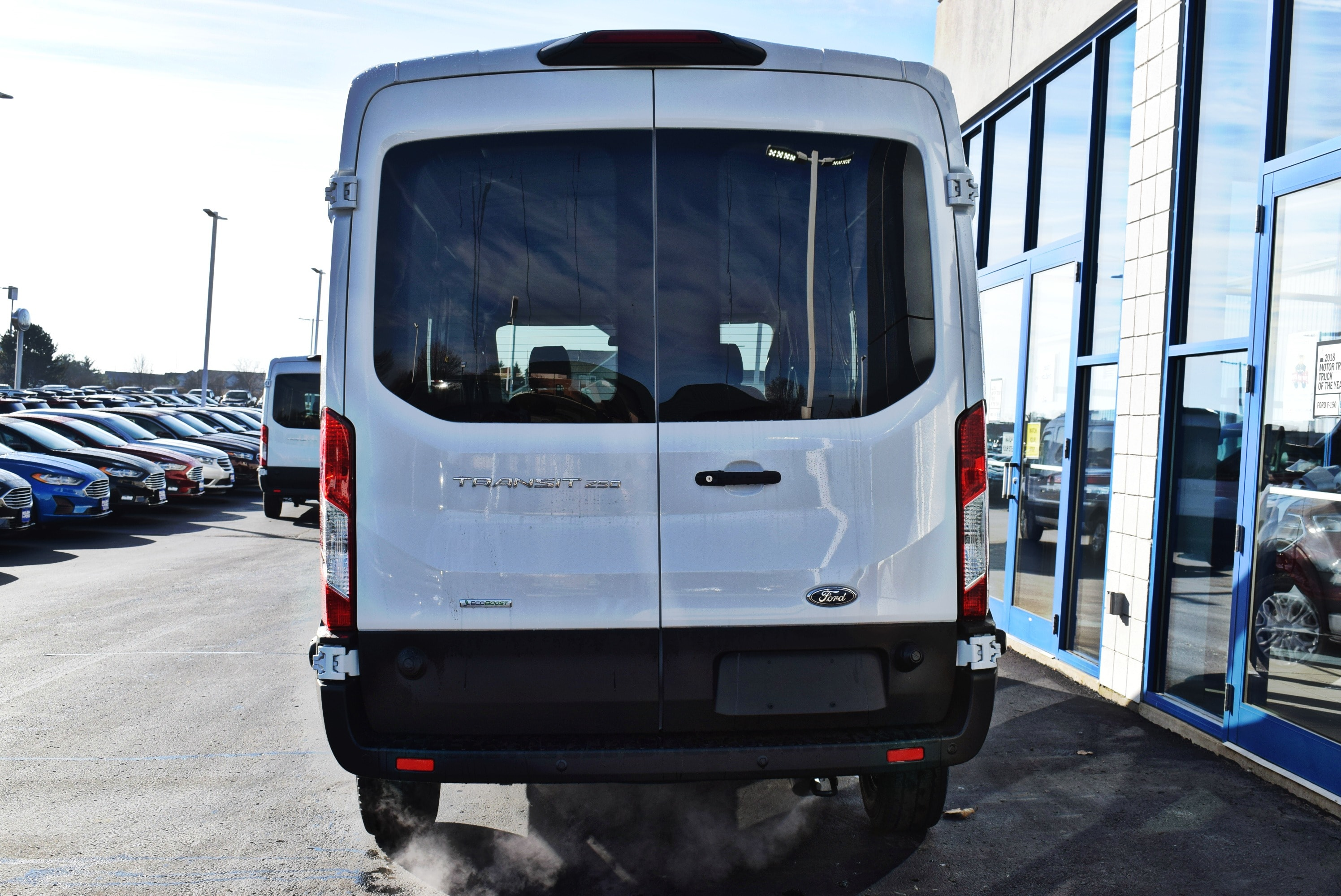 2019 Transit 250 Med Roof 4x2,  Empty Cargo Van #T19043 - photo 11