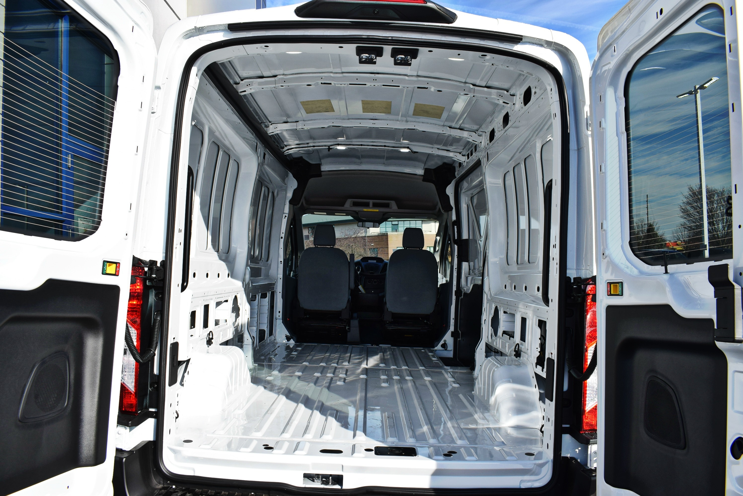 2019 Transit 250 Med Roof 4x2,  Empty Cargo Van #T19043 - photo 2