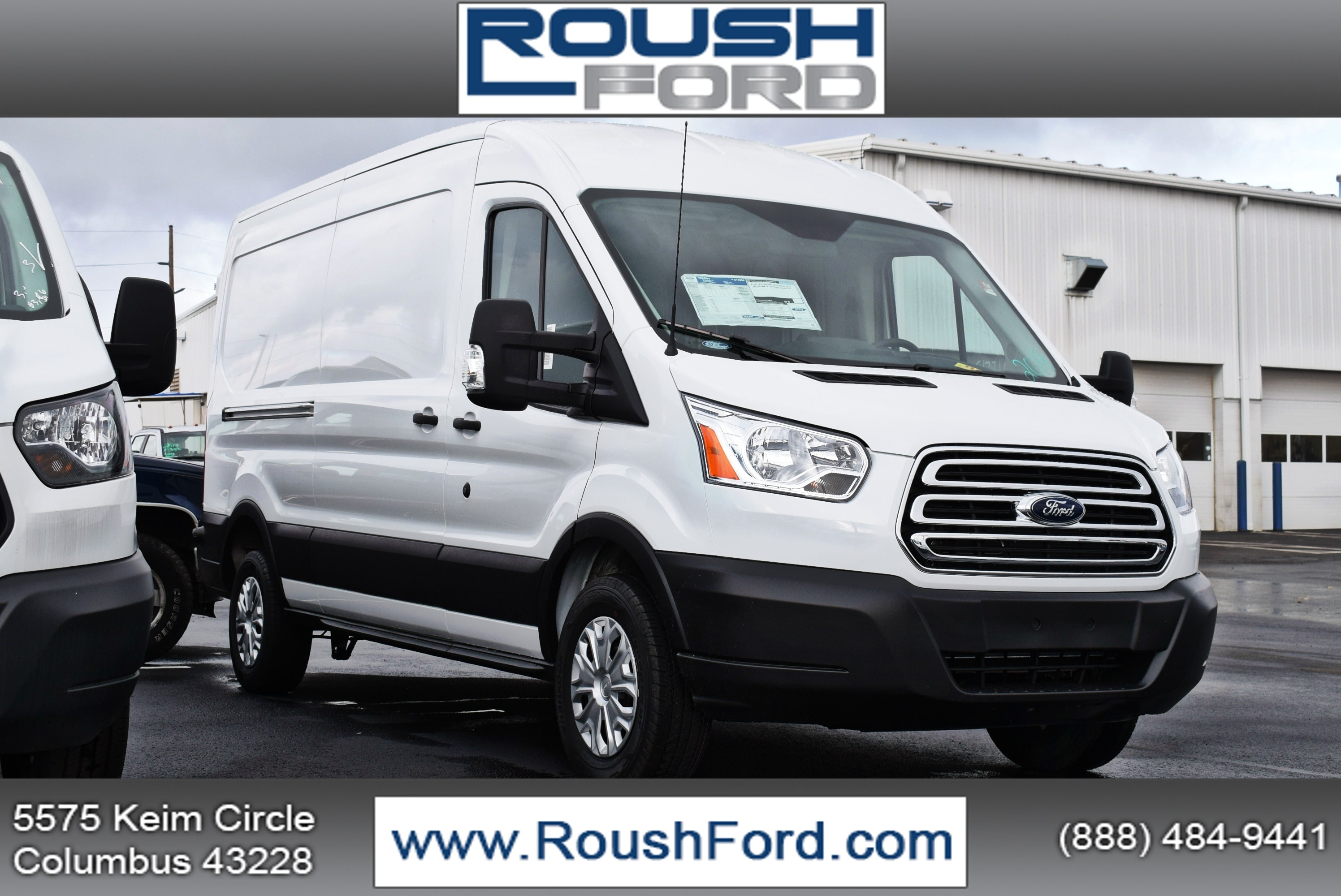 2019 Transit 350 Med Roof 4x2,  Empty Cargo Van #T19045 - photo 1