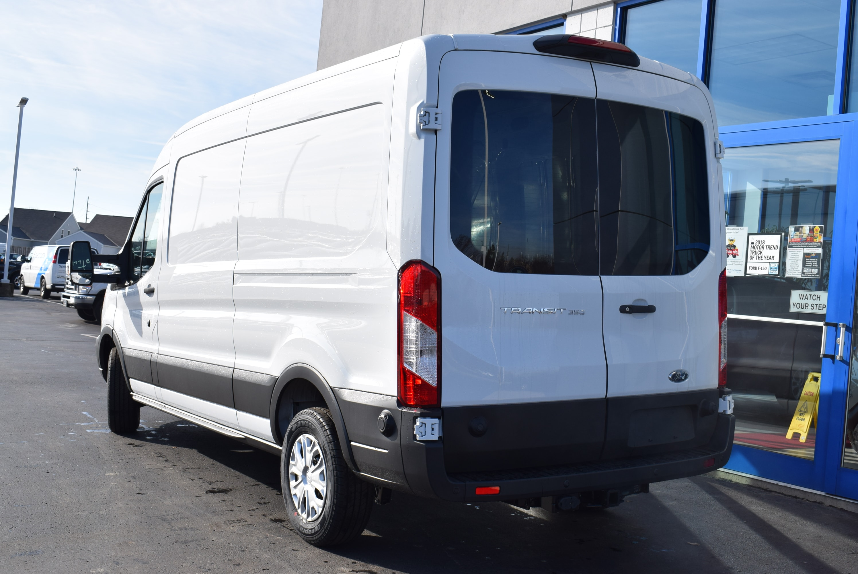 2019 Transit 350 Med Roof 4x2,  Empty Cargo Van #T19045 - photo 10
