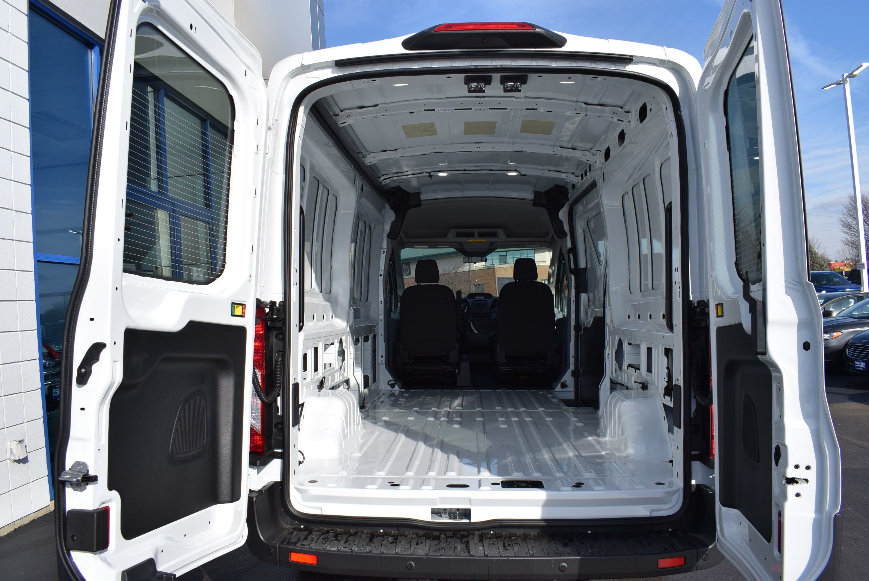 2019 Transit 350 Med Roof 4x2,  Empty Cargo Van #T19045 - photo 2