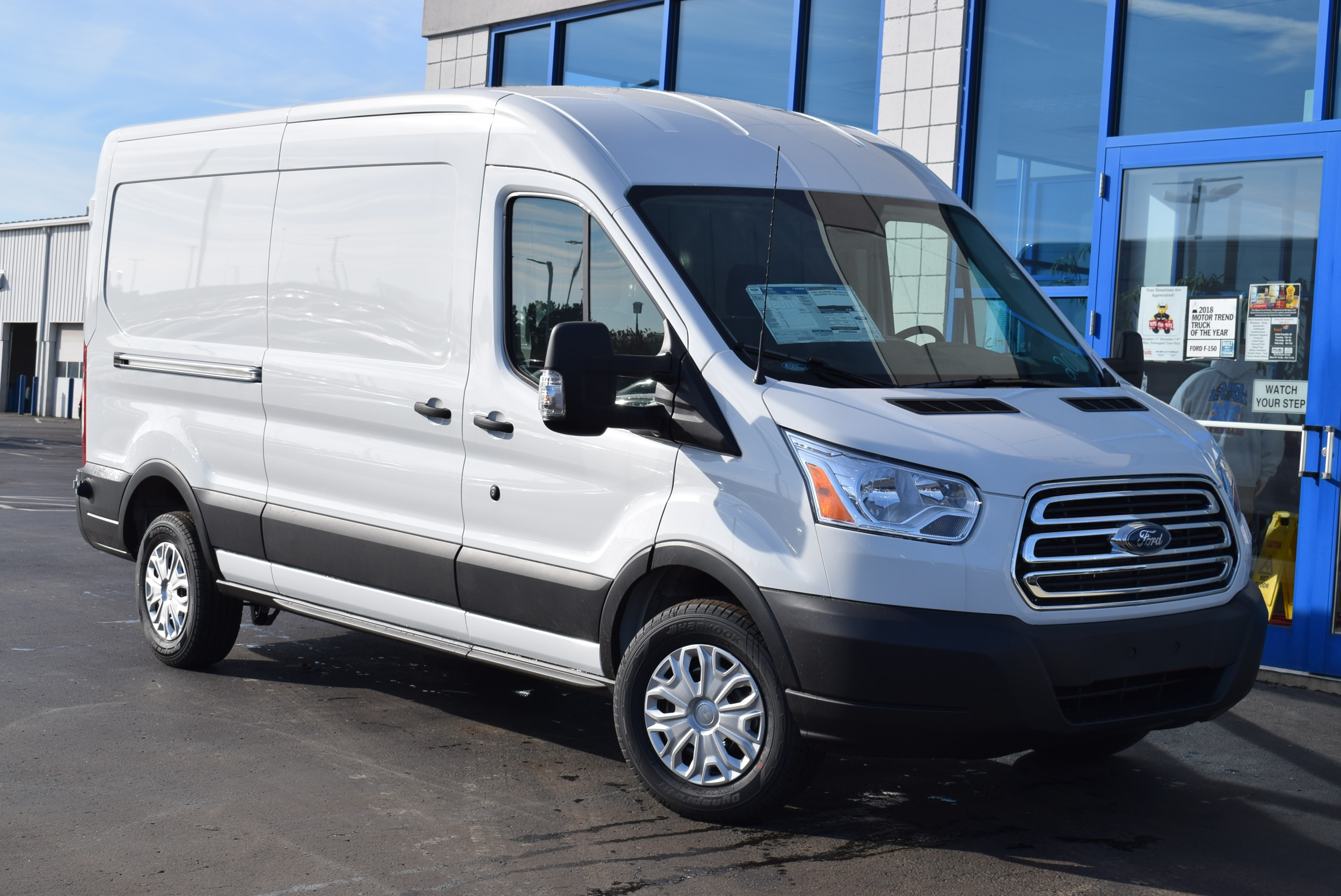 2019 Transit 350 Med Roof 4x2,  Empty Cargo Van #T19045 - photo 3
