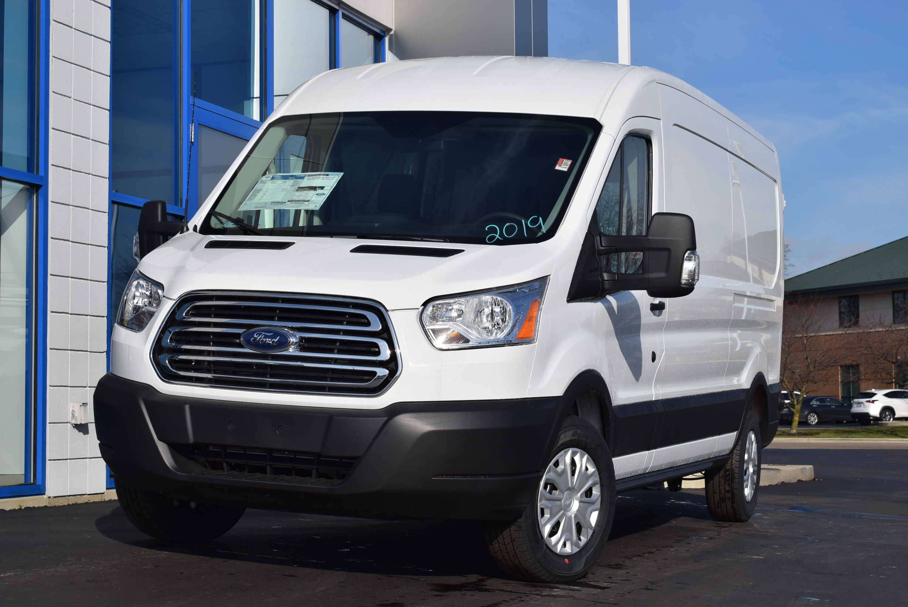 2019 Transit 350 Med Roof 4x2,  Empty Cargo Van #T19045 - photo 4