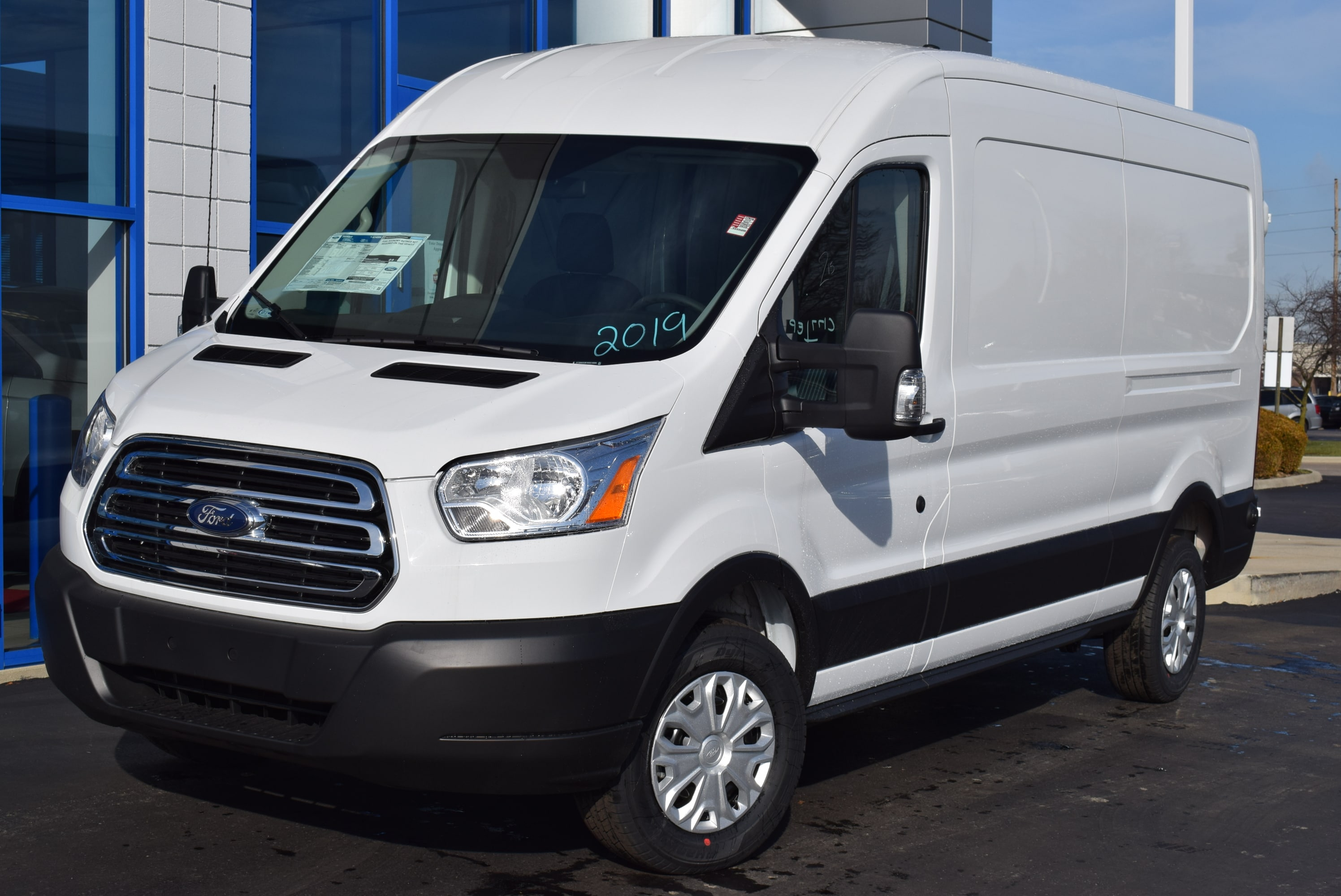 2019 Transit 350 Med Roof 4x2,  Empty Cargo Van #T19045 - photo 5