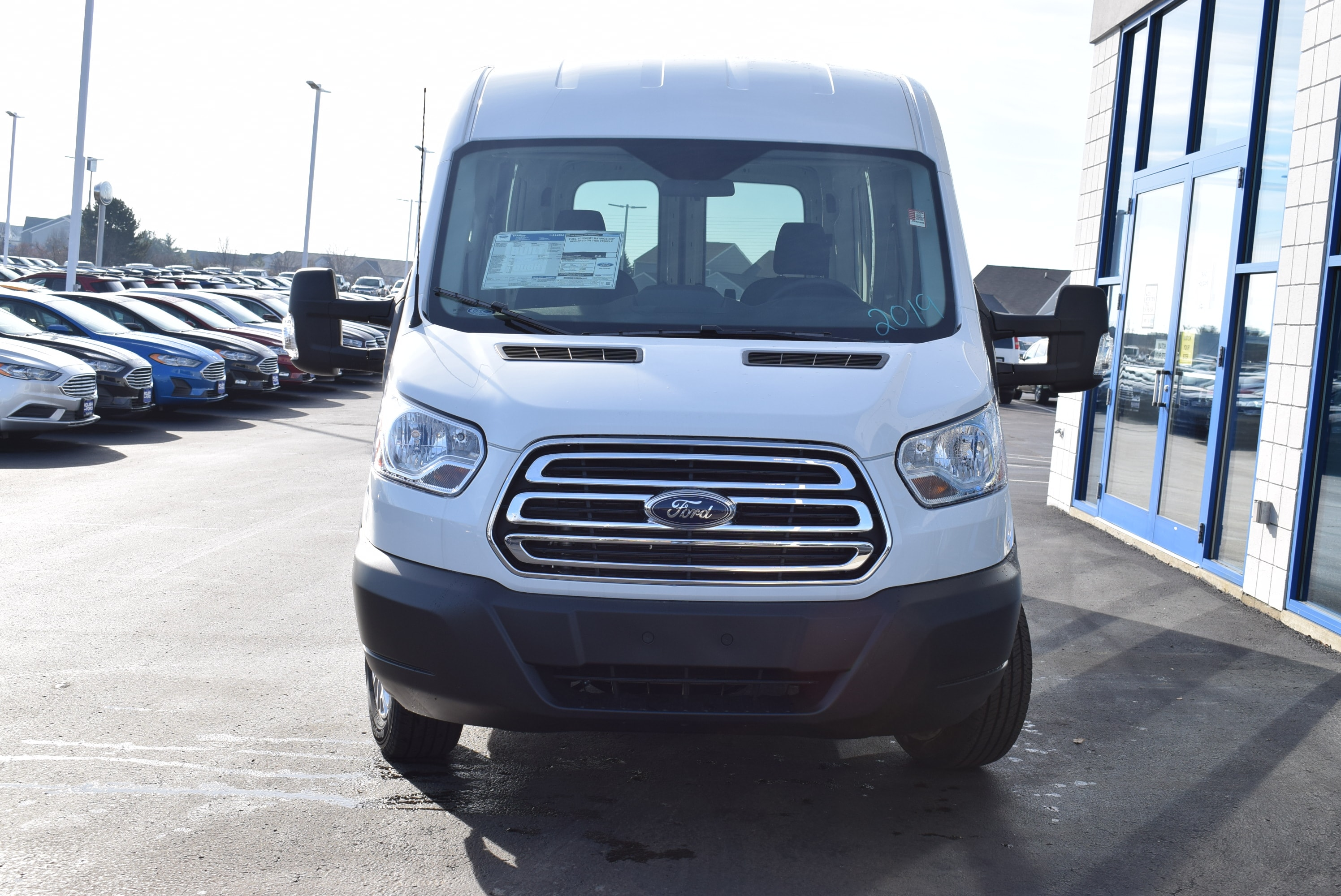2019 Transit 350 Med Roof 4x2,  Empty Cargo Van #T19045 - photo 6