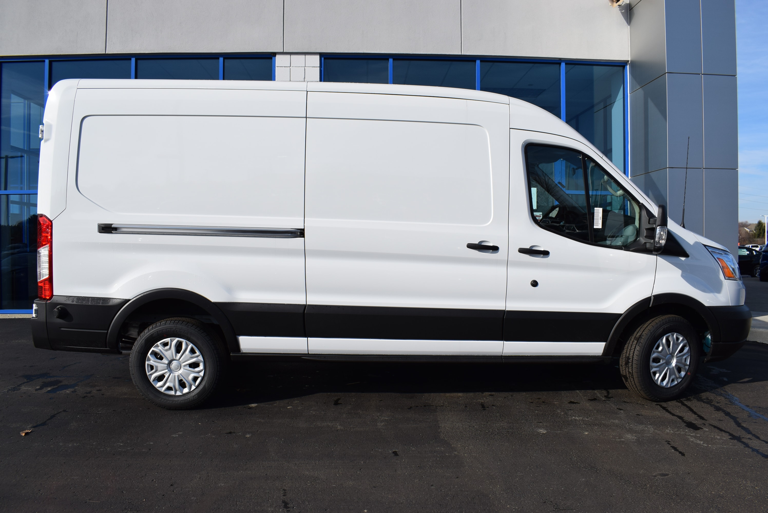 2019 Transit 350 Med Roof 4x2,  Empty Cargo Van #T19045 - photo 7