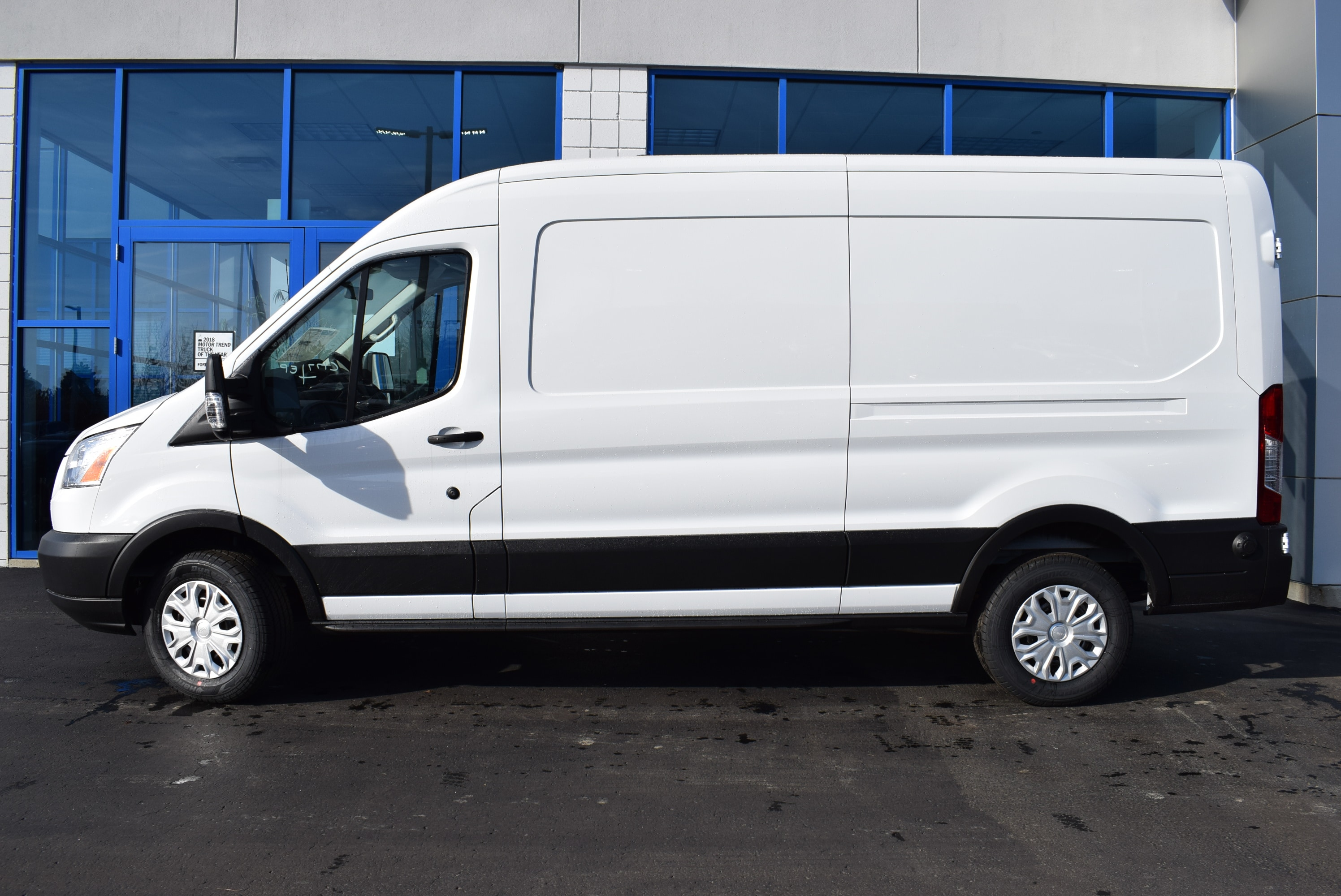 2019 Transit 350 Med Roof 4x2,  Empty Cargo Van #T19045 - photo 8