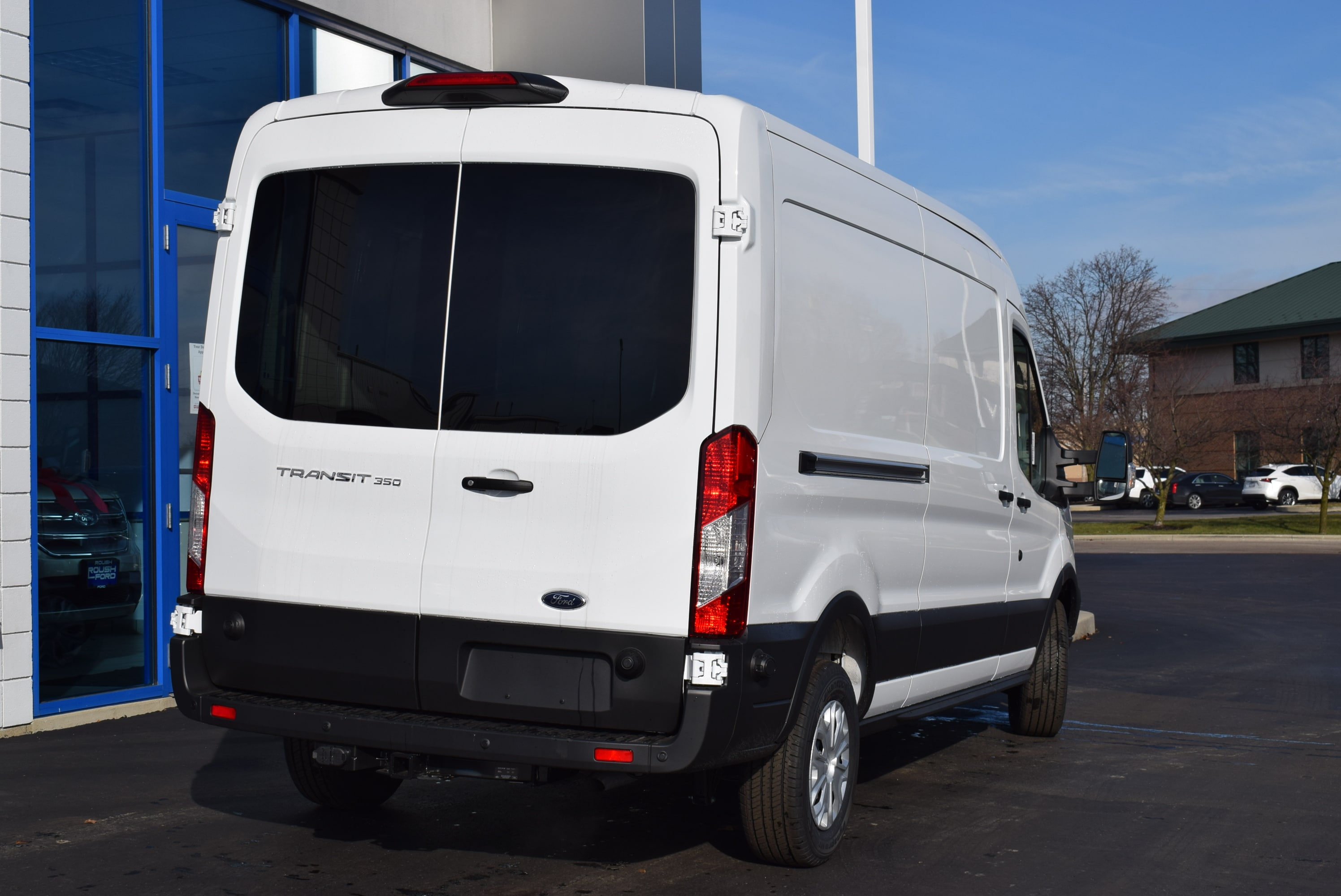 2019 Transit 350 Med Roof 4x2,  Empty Cargo Van #T19045 - photo 9