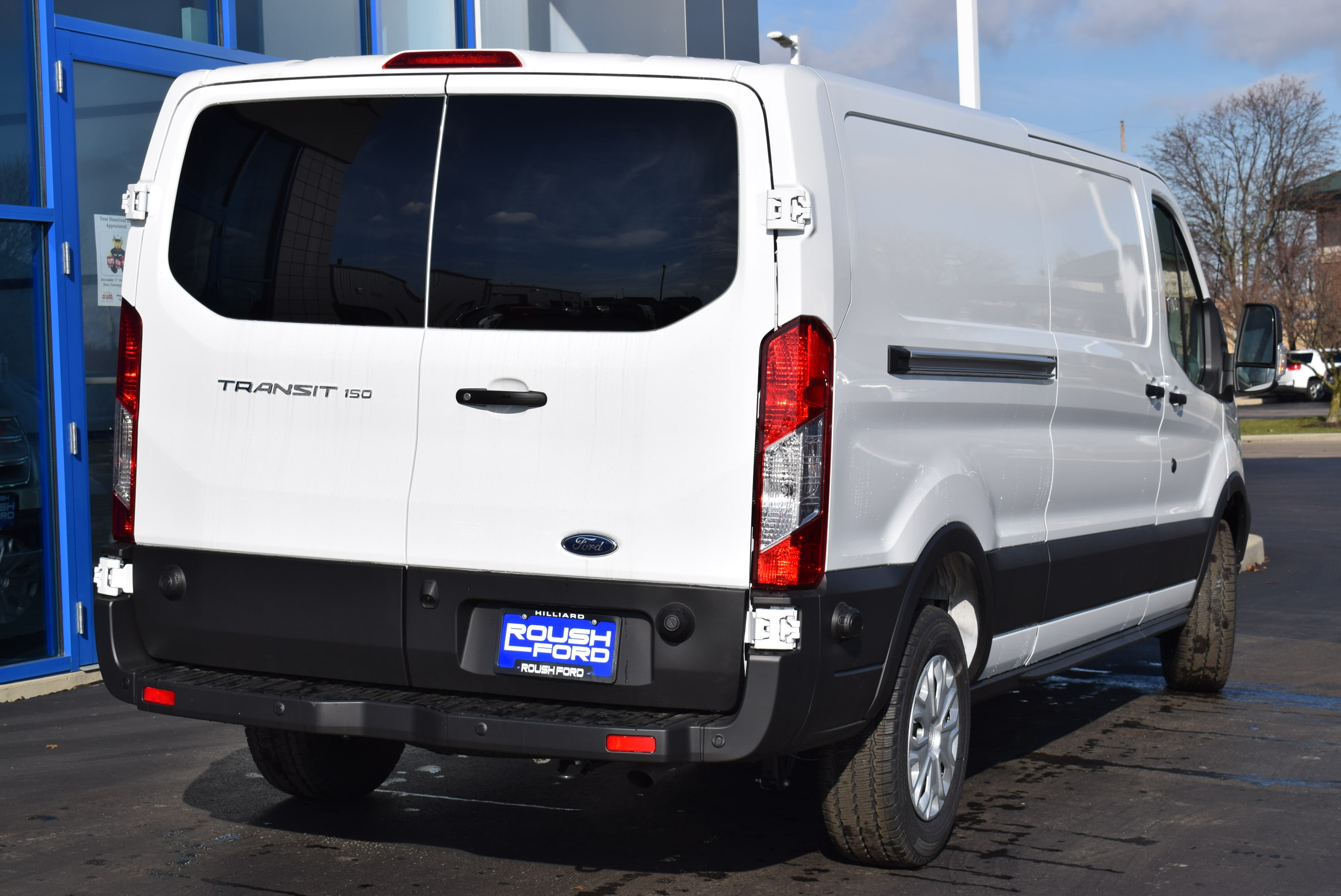 2019 Transit 150 Low Roof 4x2,  Empty Cargo Van #T19054 - photo 9