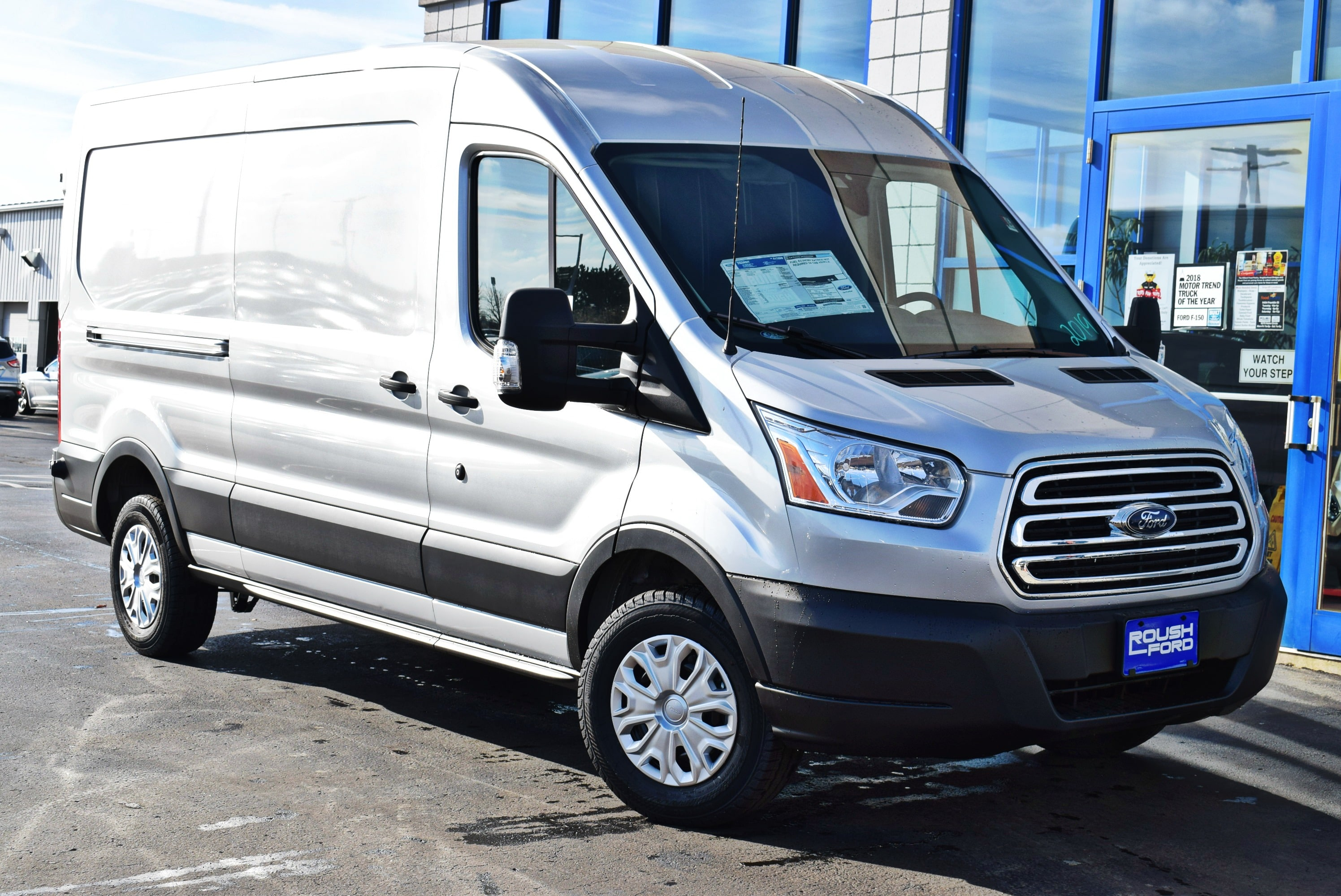 2019 Transit 250 Med Roof 4x2,  Empty Cargo Van #T19059 - photo 3