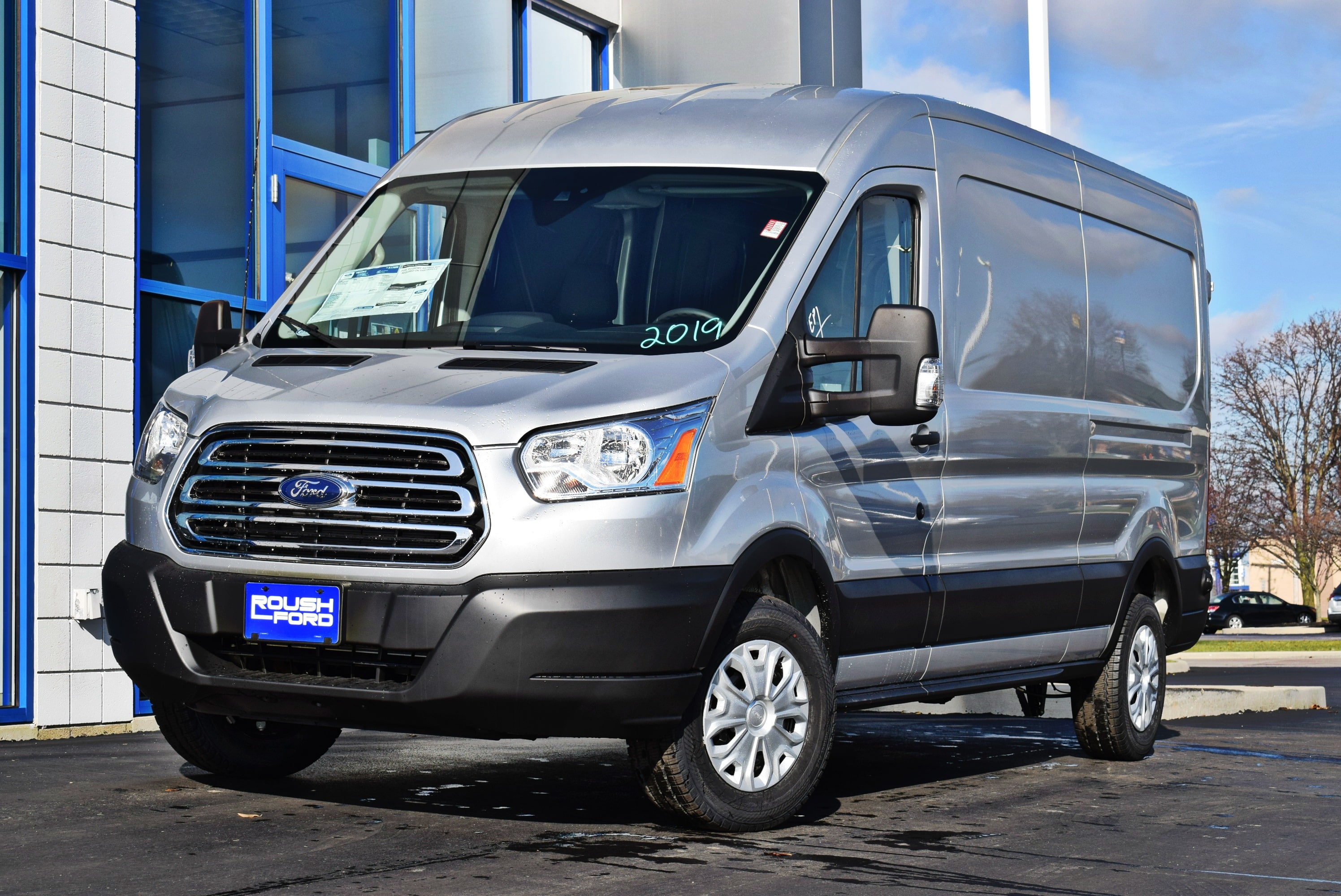2019 Transit 250 Med Roof 4x2,  Empty Cargo Van #T19059 - photo 4