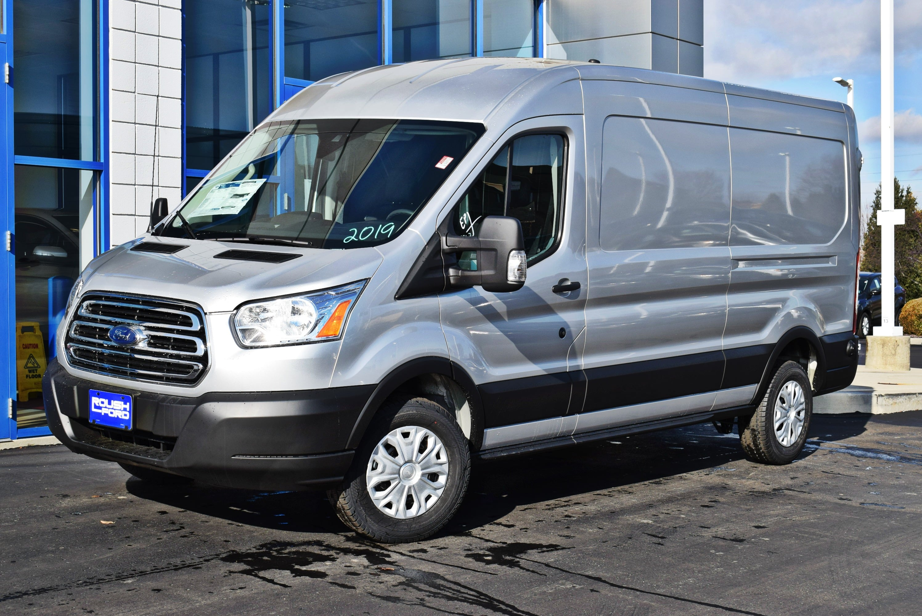 2019 Transit 250 Med Roof 4x2,  Empty Cargo Van #T19059 - photo 5