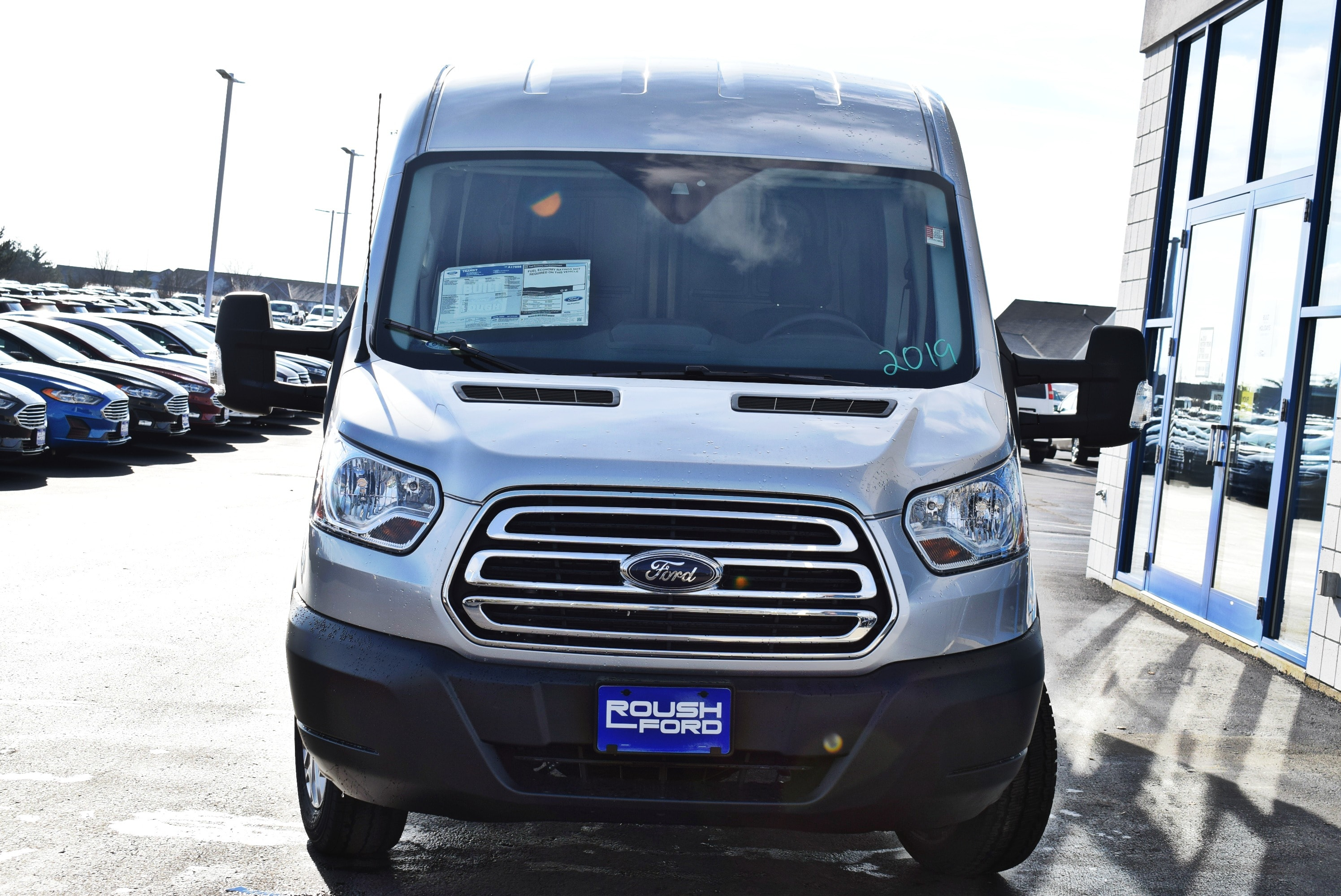 2019 Transit 250 Med Roof 4x2,  Empty Cargo Van #T19059 - photo 6