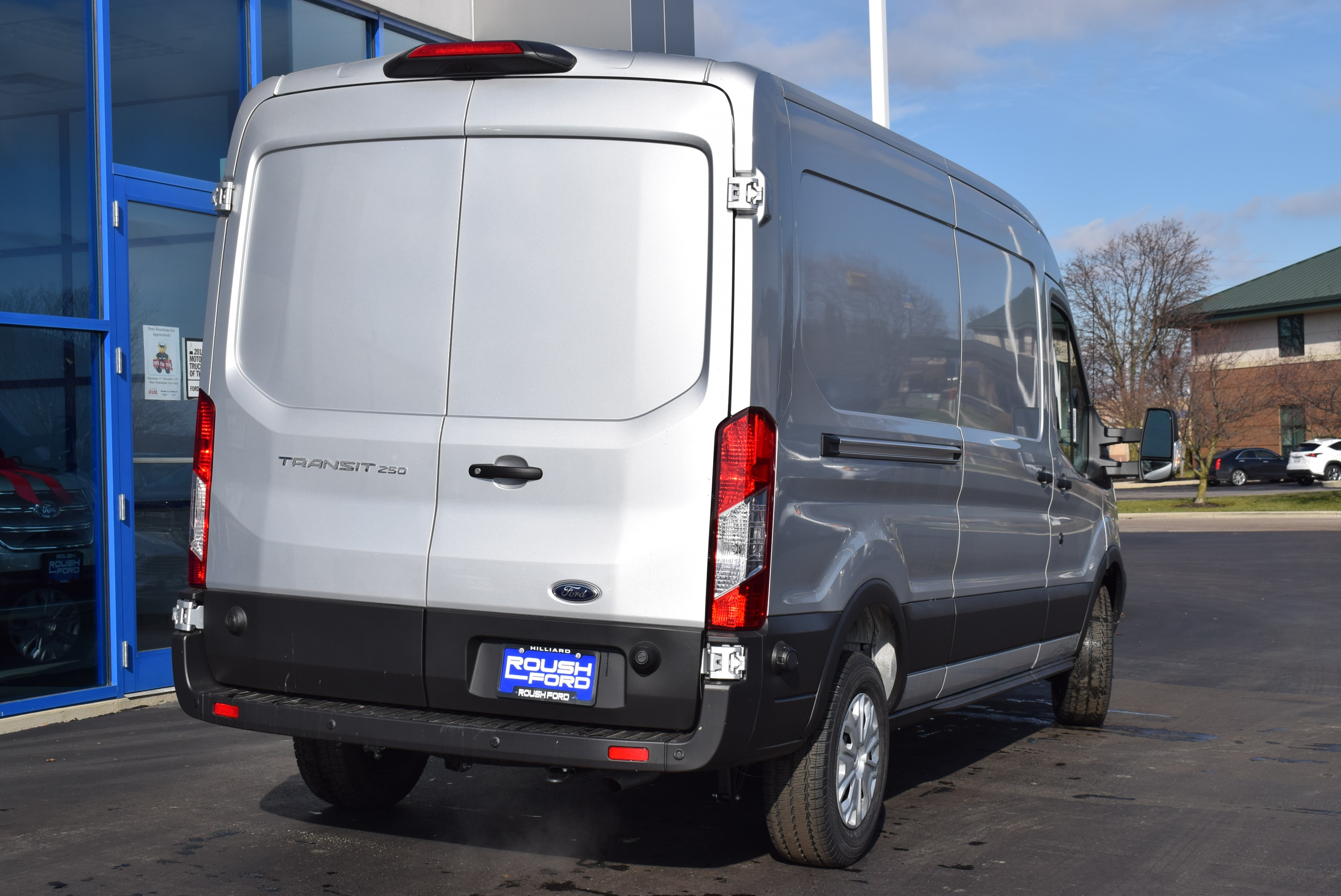2019 Transit 250 Med Roof 4x2,  Empty Cargo Van #T19059 - photo 9