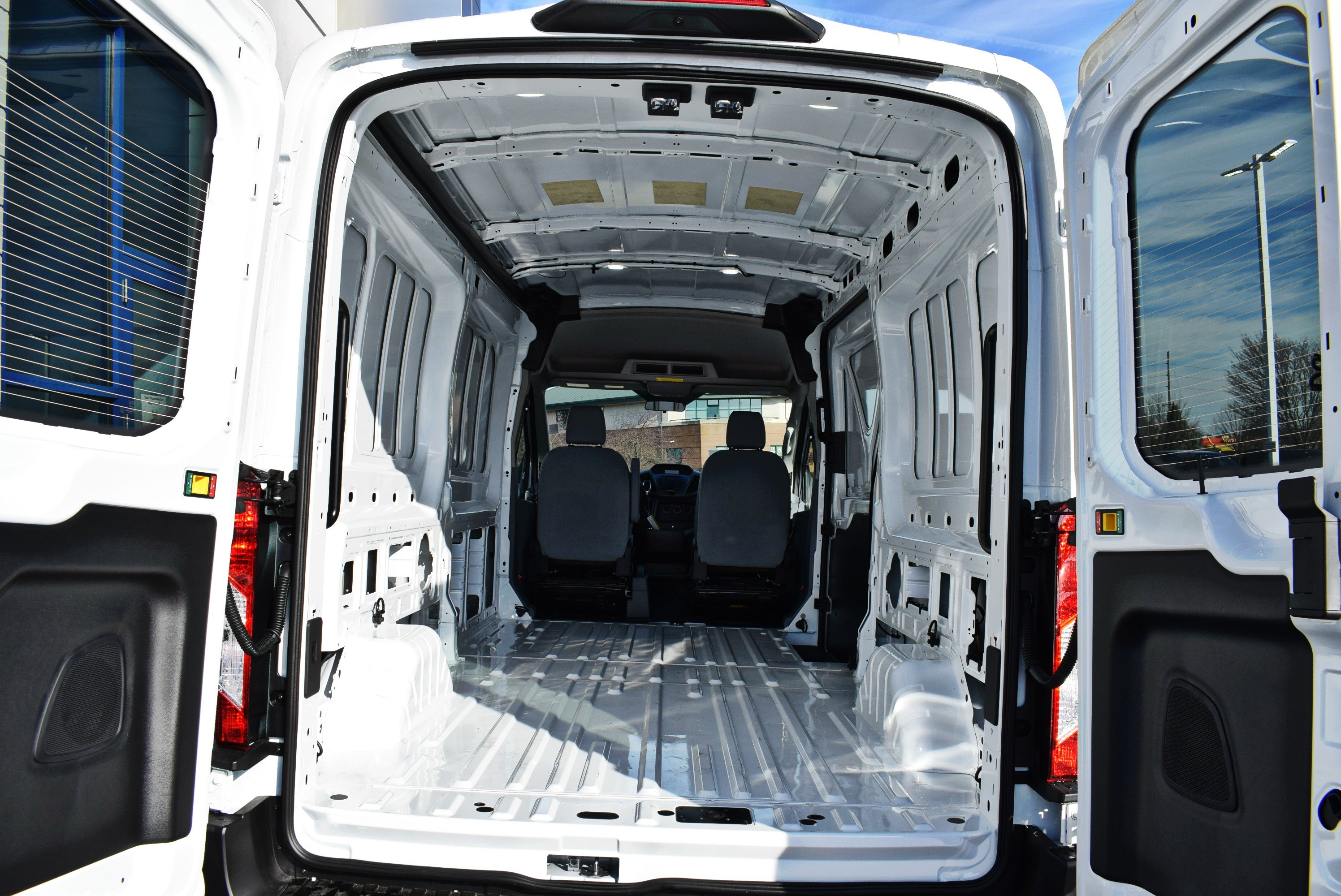 2019 Transit 150 Med Roof 4x2,  Empty Cargo Van #T19085 - photo 2