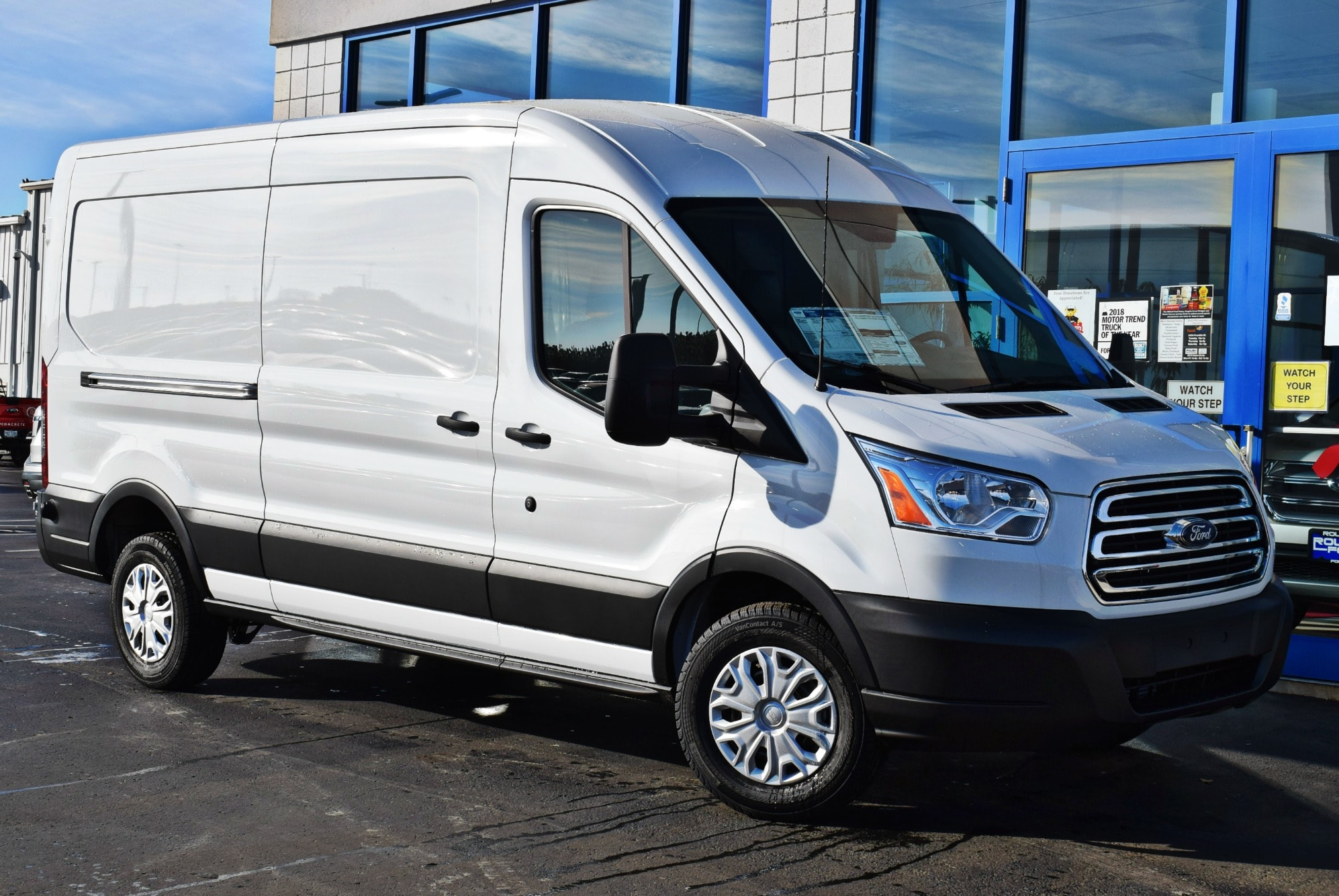 2019 Transit 150 Med Roof 4x2,  Empty Cargo Van #T19085 - photo 3