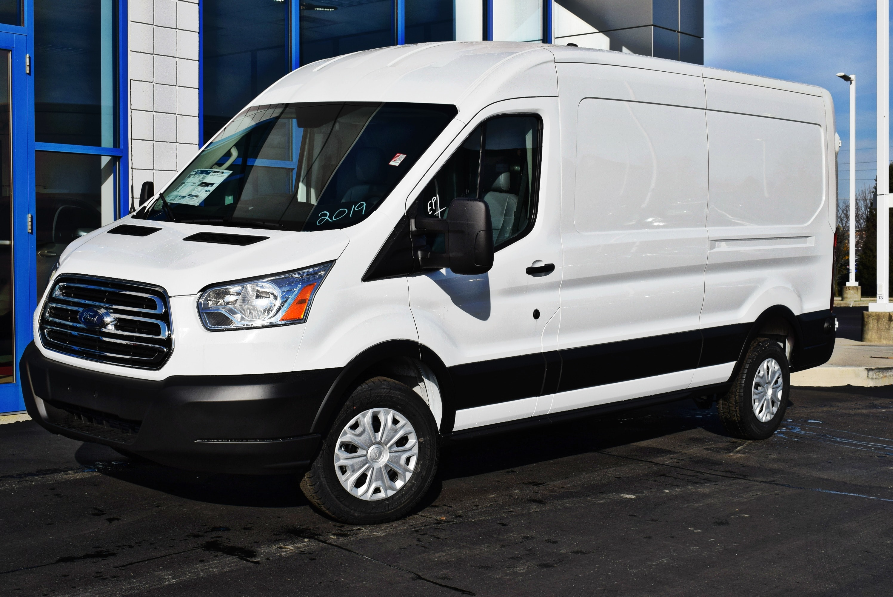 2019 Transit 150 Med Roof 4x2,  Empty Cargo Van #T19085 - photo 5
