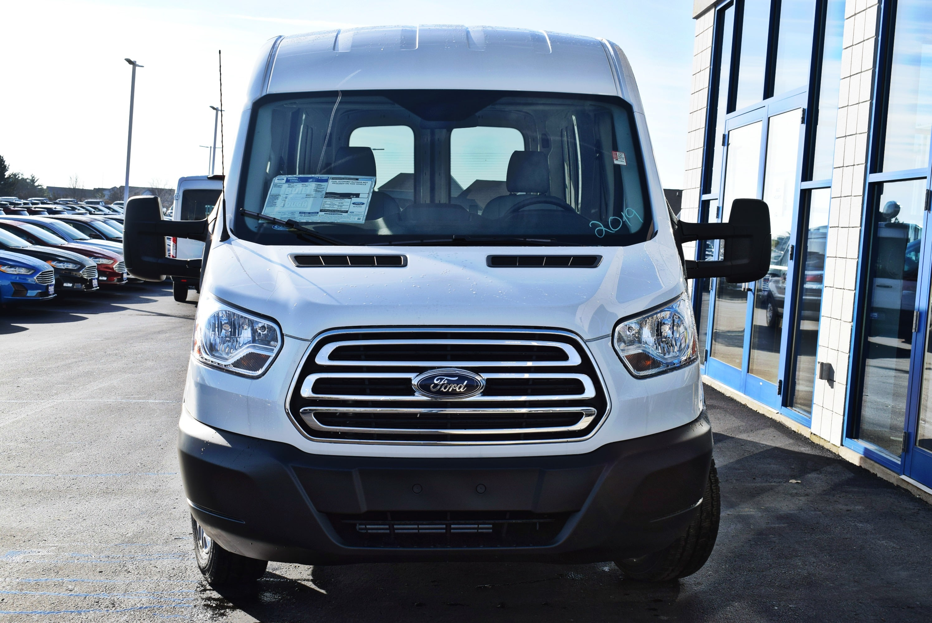 2019 Transit 150 Med Roof 4x2,  Empty Cargo Van #T19085 - photo 6
