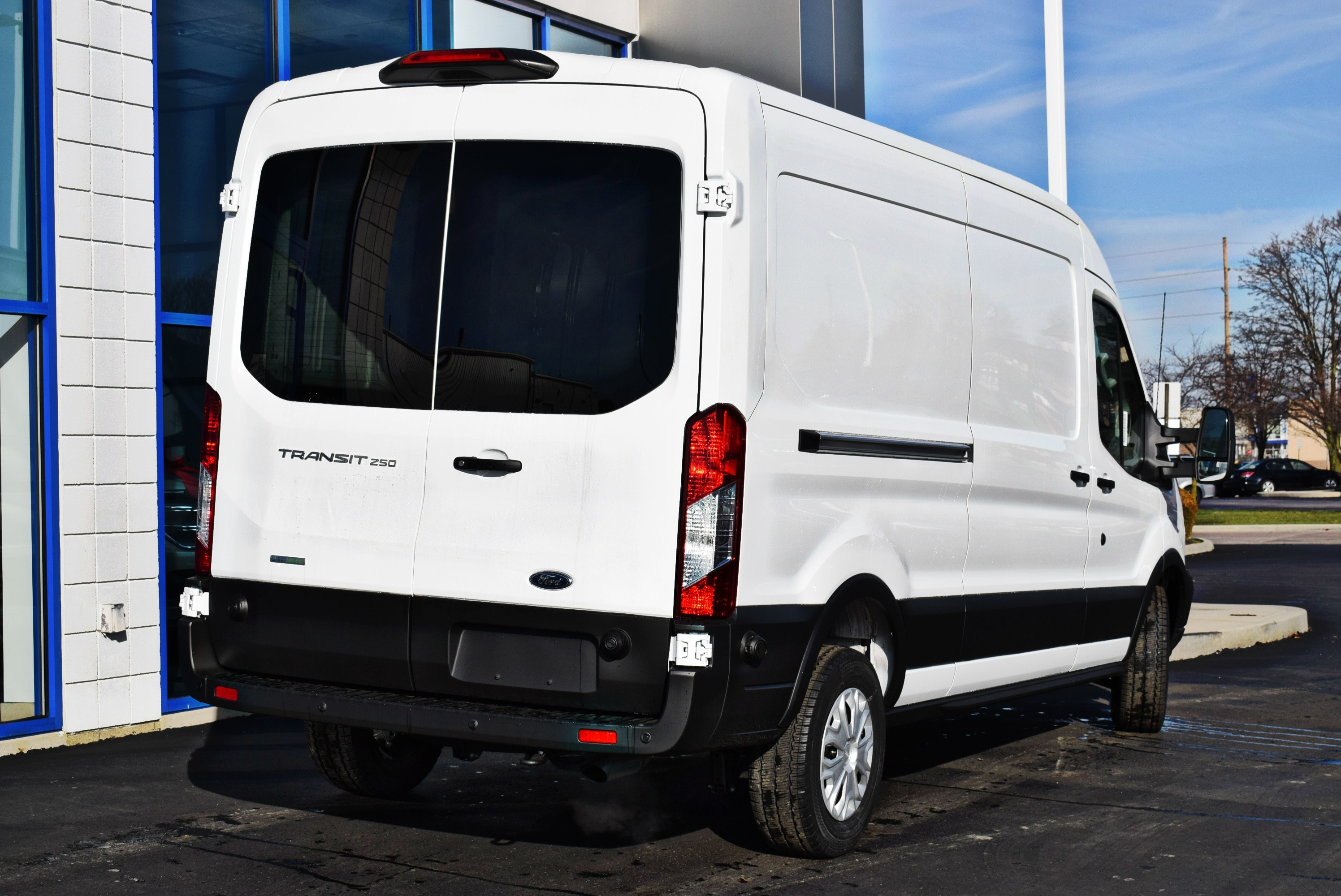 2019 Transit 150 Med Roof 4x2,  Empty Cargo Van #T19085 - photo 7