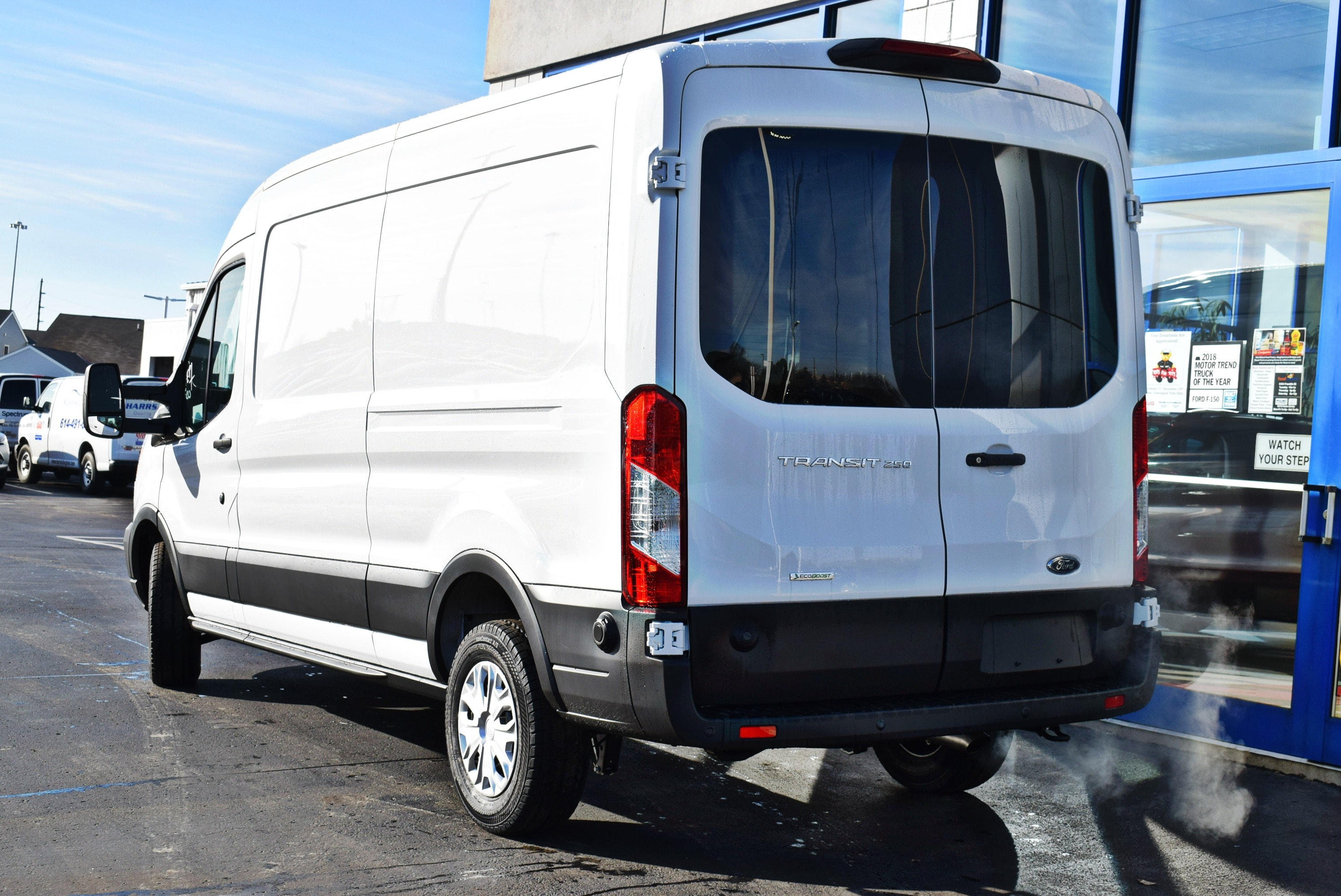 2019 Transit 150 Med Roof 4x2,  Empty Cargo Van #T19085 - photo 8
