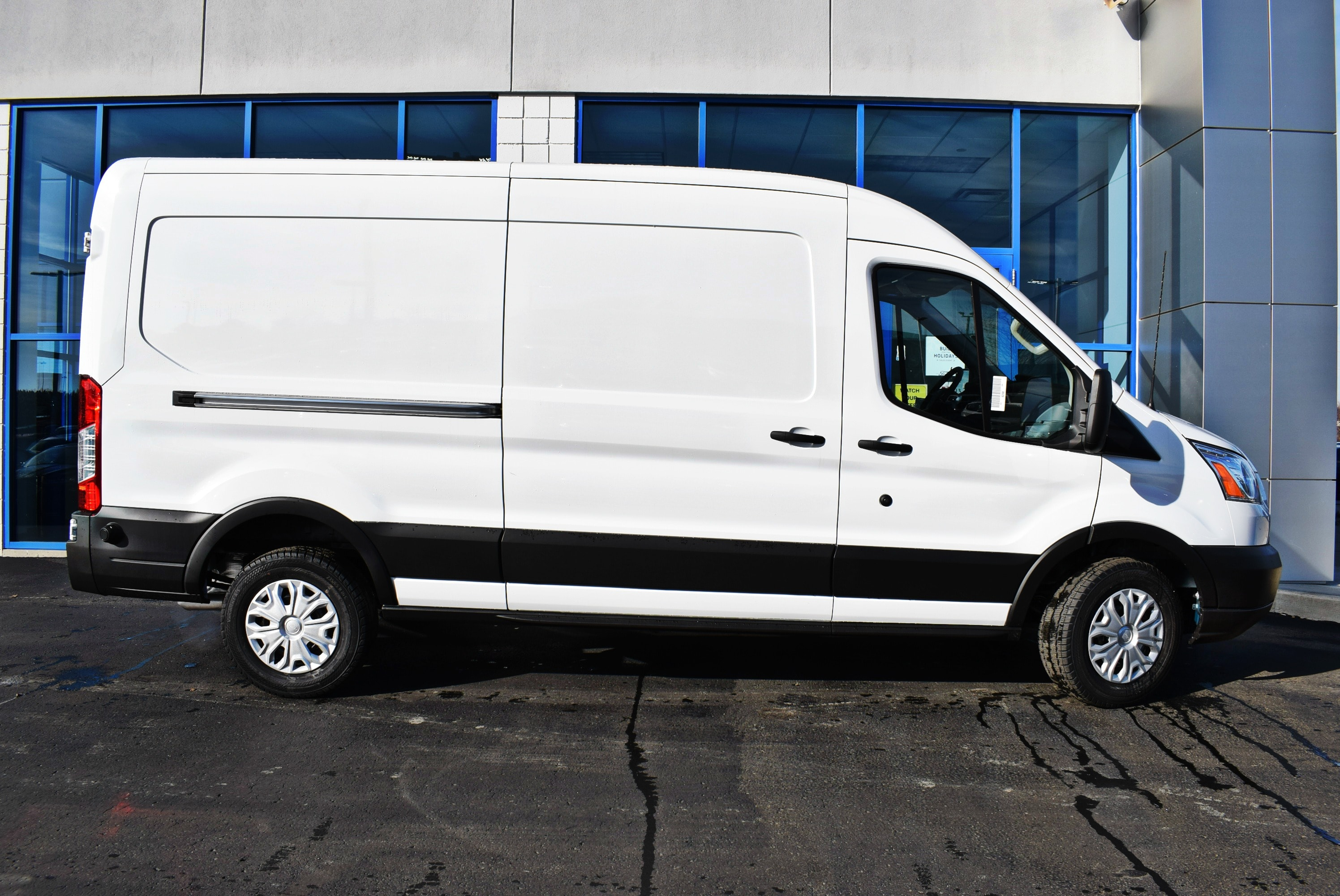2019 Transit 150 Med Roof 4x2,  Empty Cargo Van #T19085 - photo 9