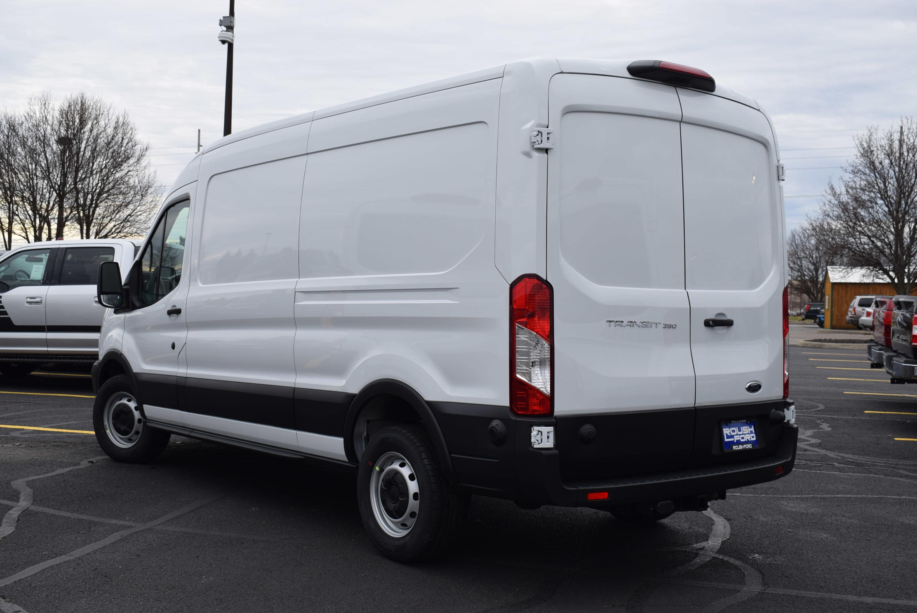 2019 Transit 350 Med Roof 4x2,  Empty Cargo Van #T19108 - photo 2