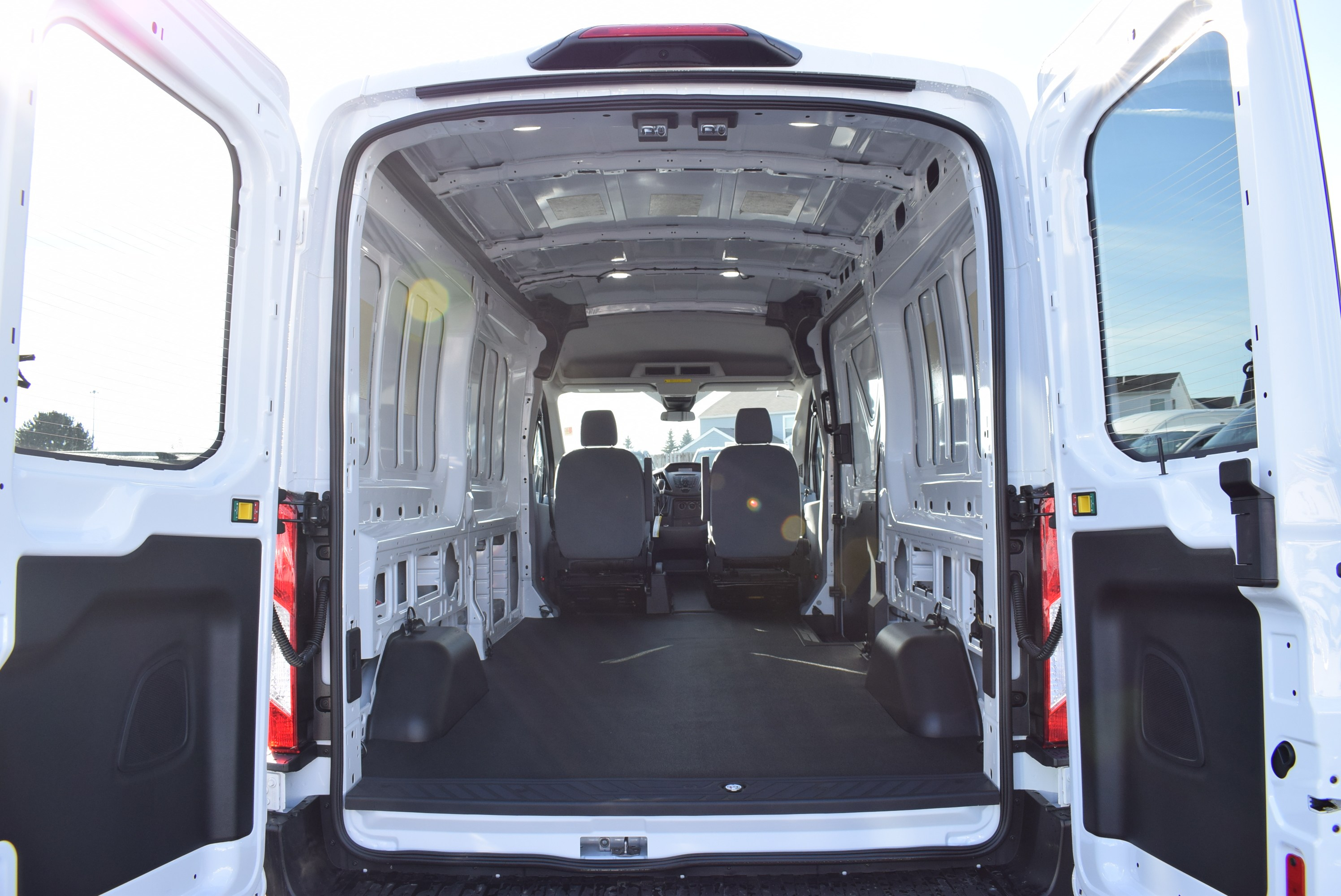 2019 Transit 150 Med Roof 4x2,  Empty Cargo Van #T19173 - photo 2