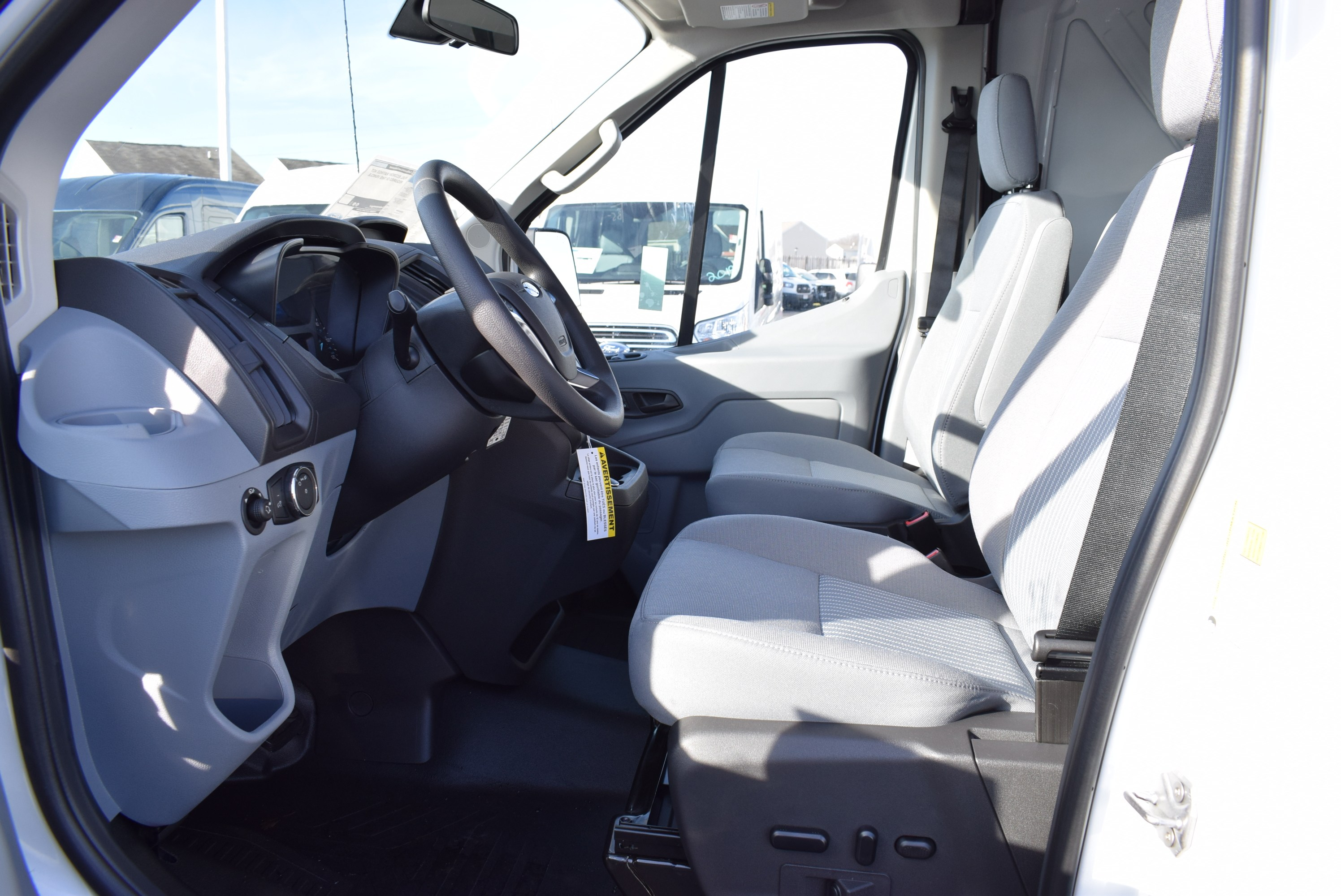 2019 Transit 150 Med Roof 4x2,  Empty Cargo Van #T19173 - photo 17